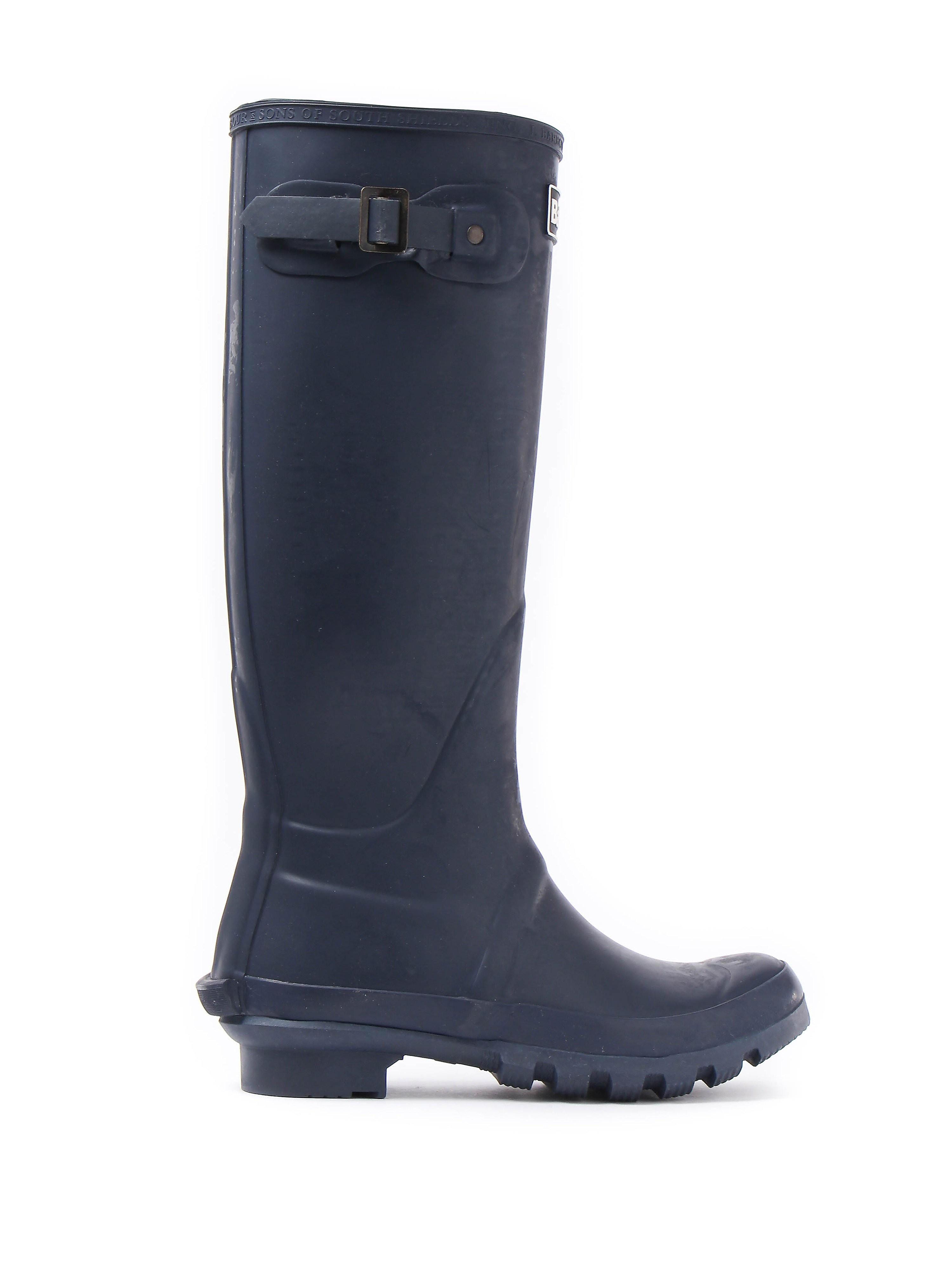 Barbour Women's Bede Wellington Boots - Navy