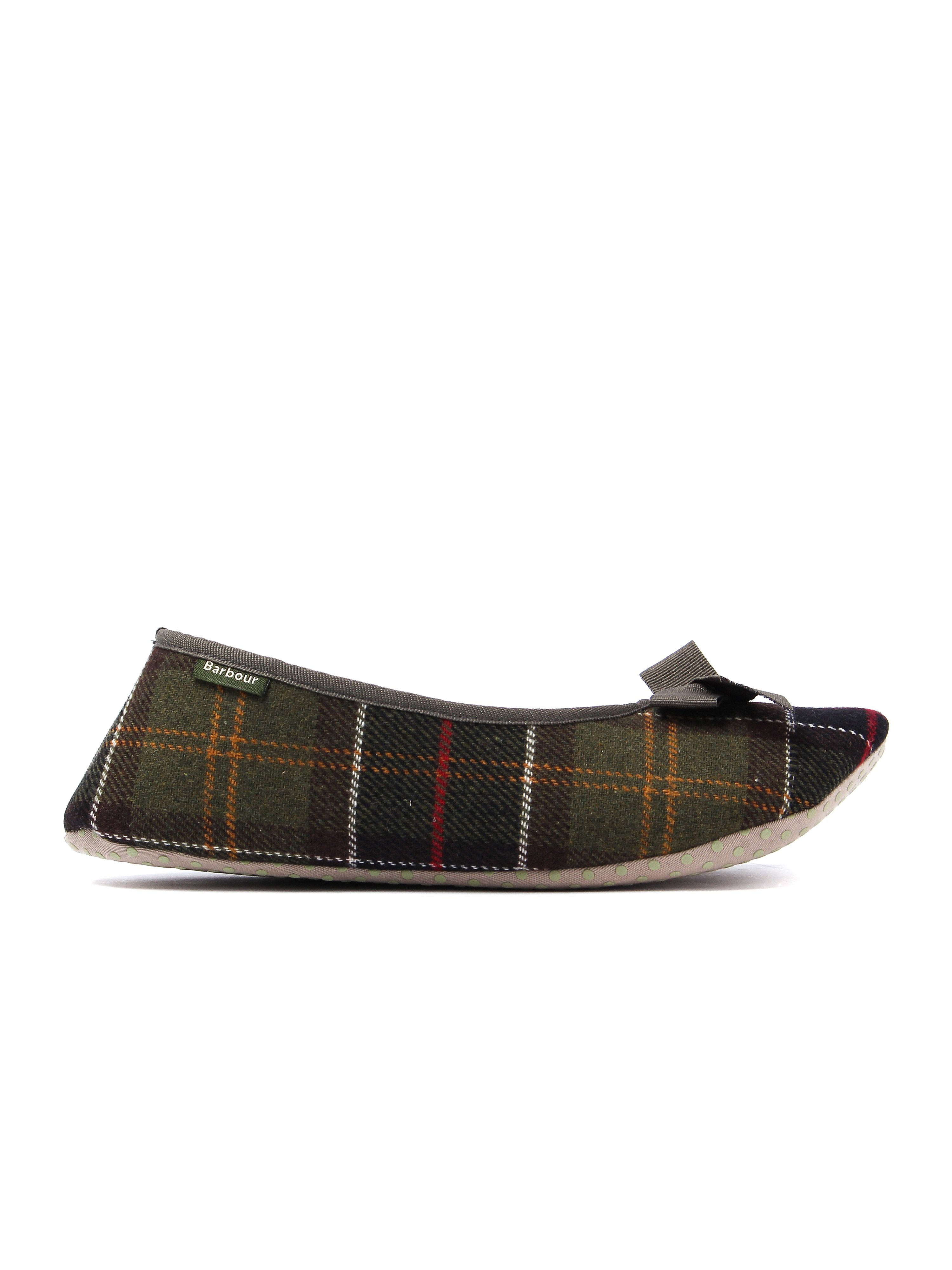Barbour Women's Lily Tartan Ballerina Slippers - Classic