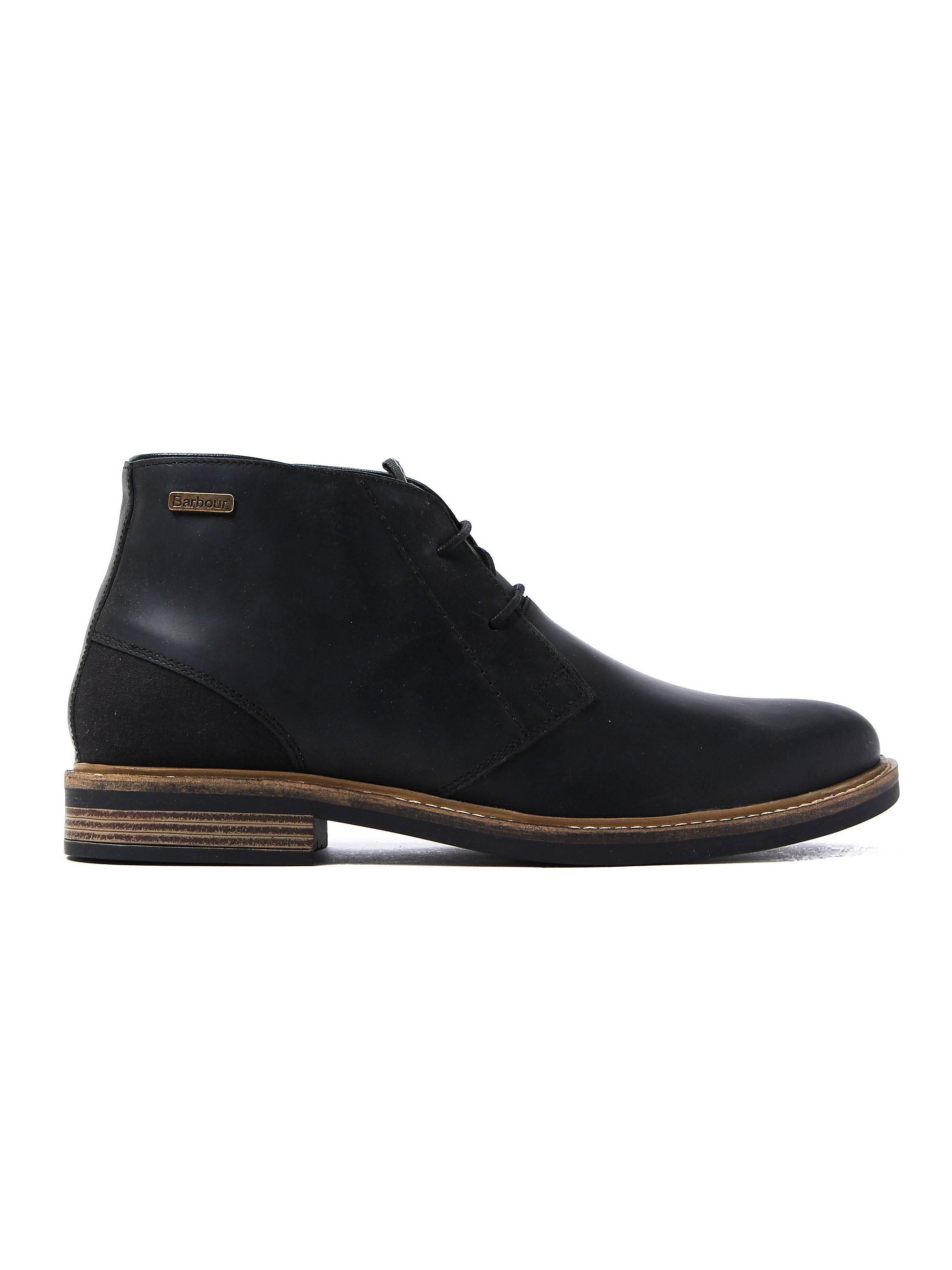 Barbour Readhead Classic 2 Eyelet Chukka Boots - Black