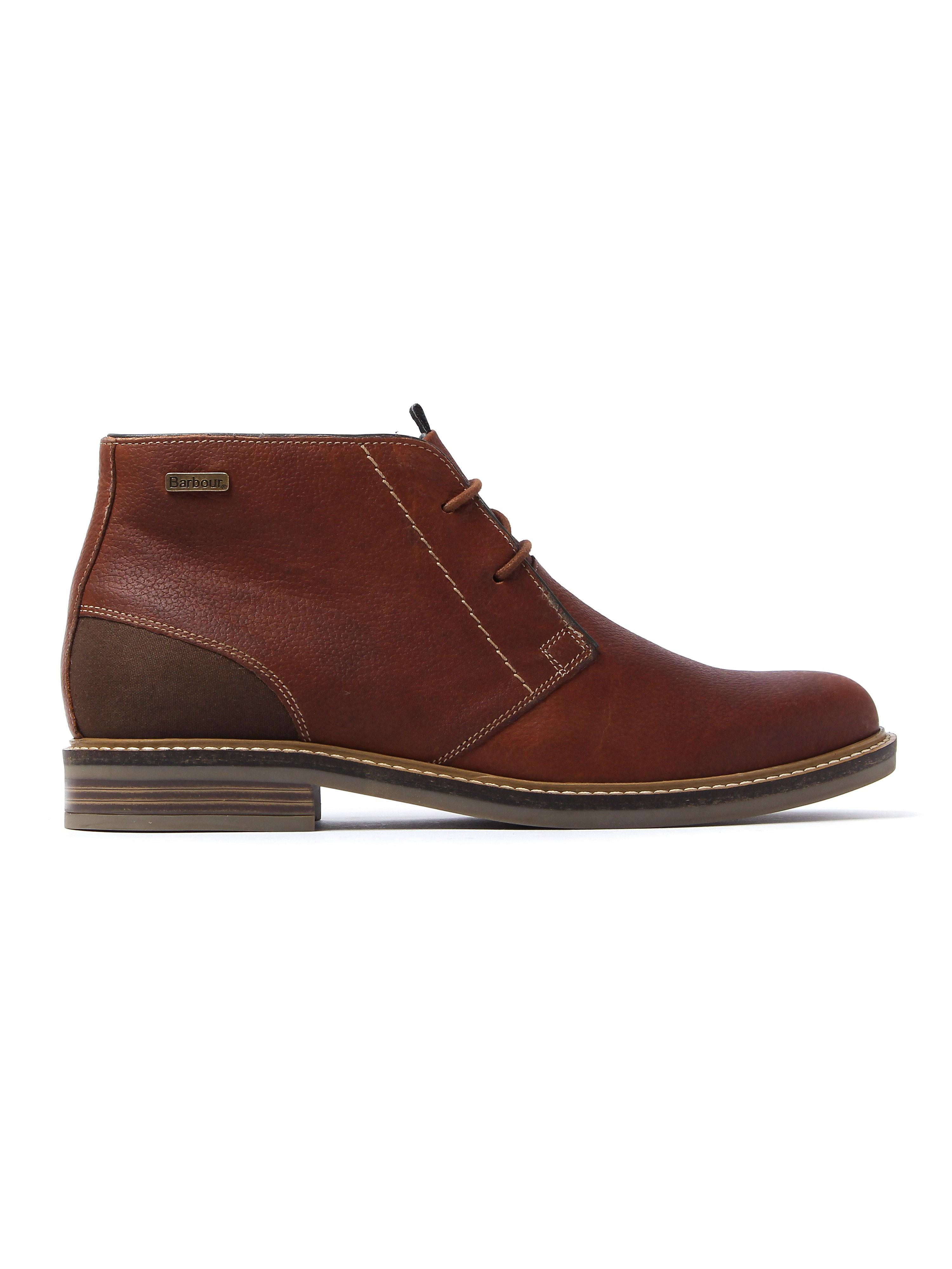 Barbour Men's Readhead Leather Chukka Boots - Chestnut