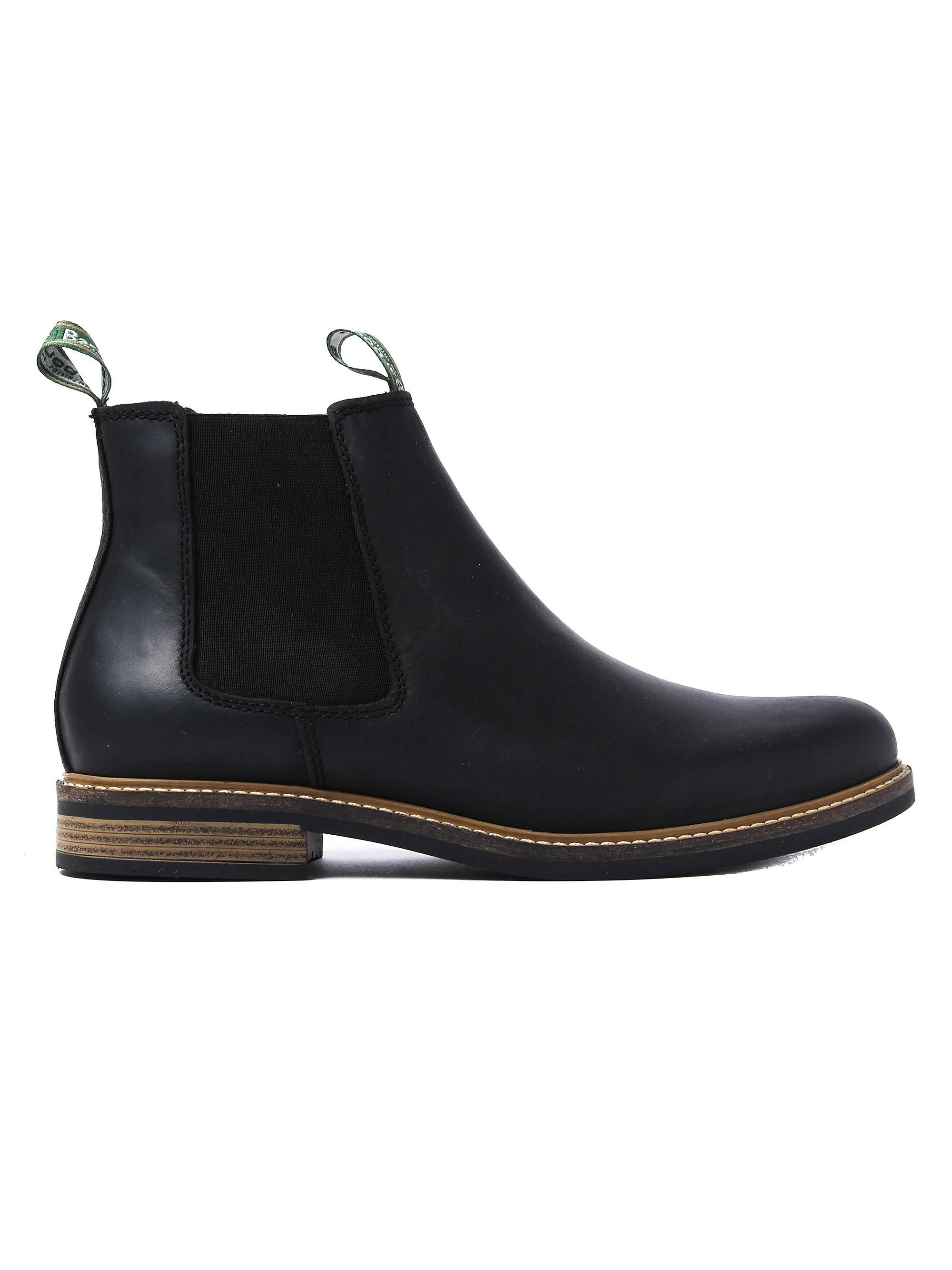 Barbour Men's Farsley Leather Chelsea Boots - Black