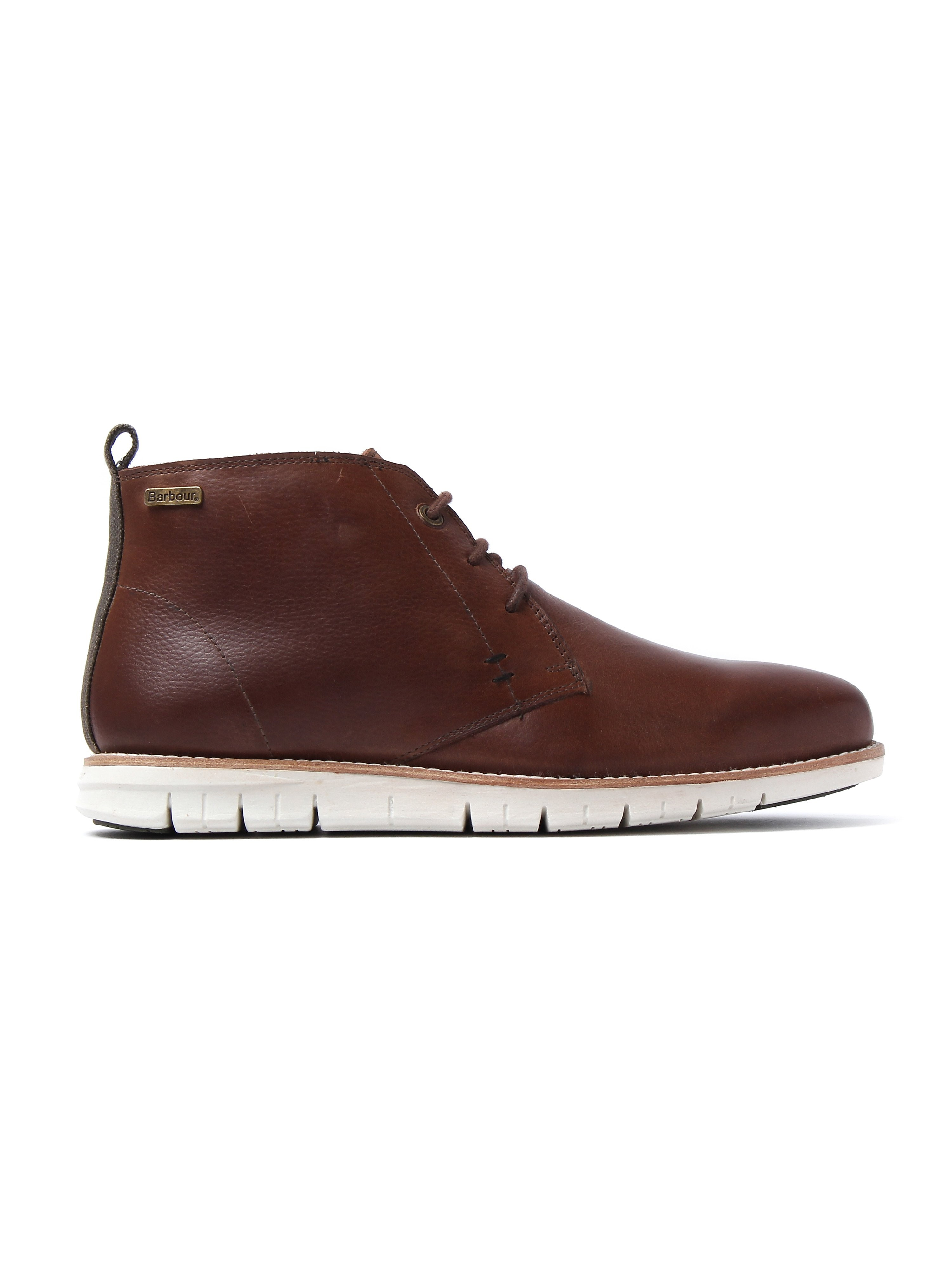 Barbour Men's Burghley Chukka Boots - Wine Leather