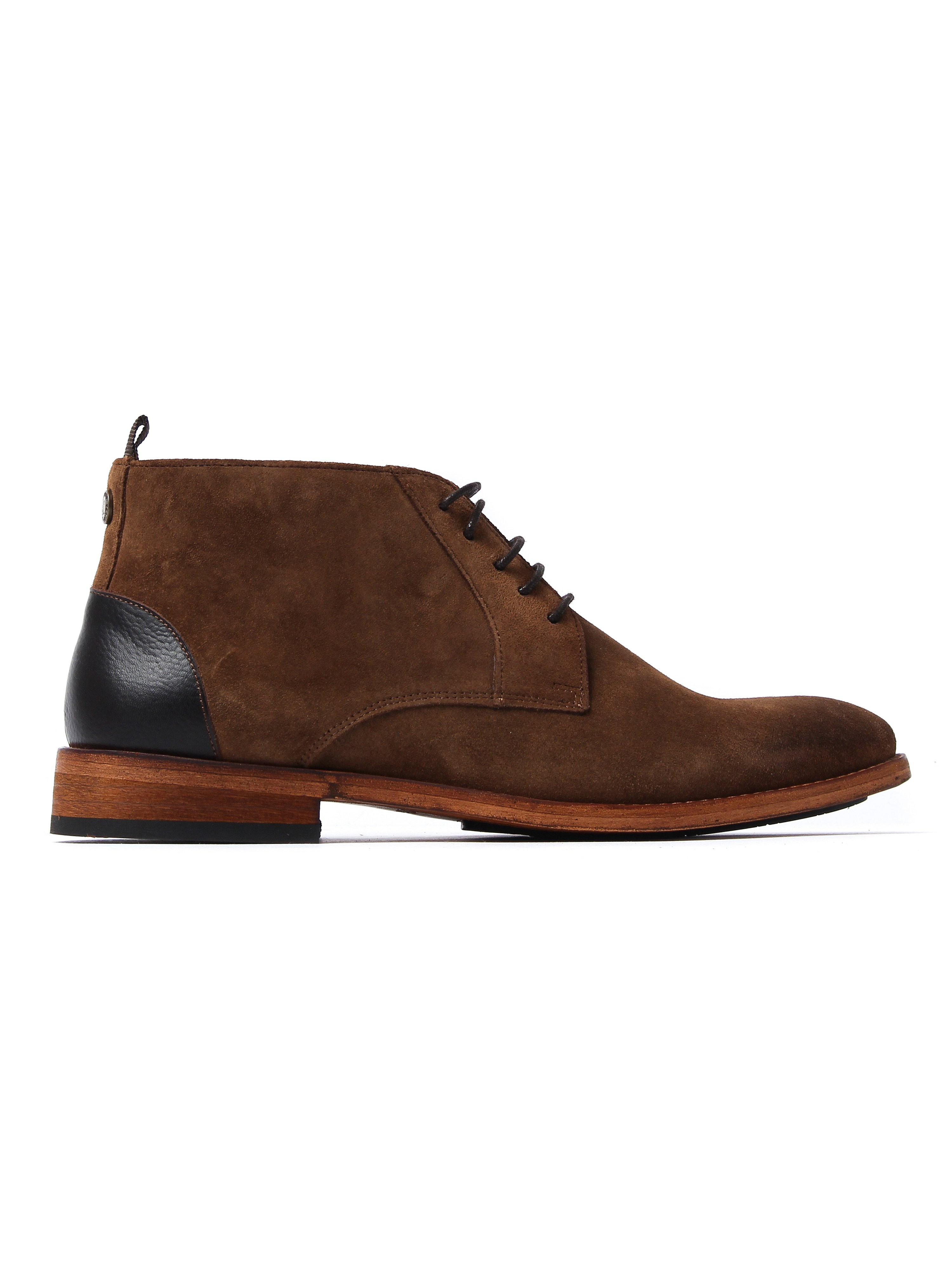 Barbour Men's Benwell Chukka Boots - Tabacco Suede