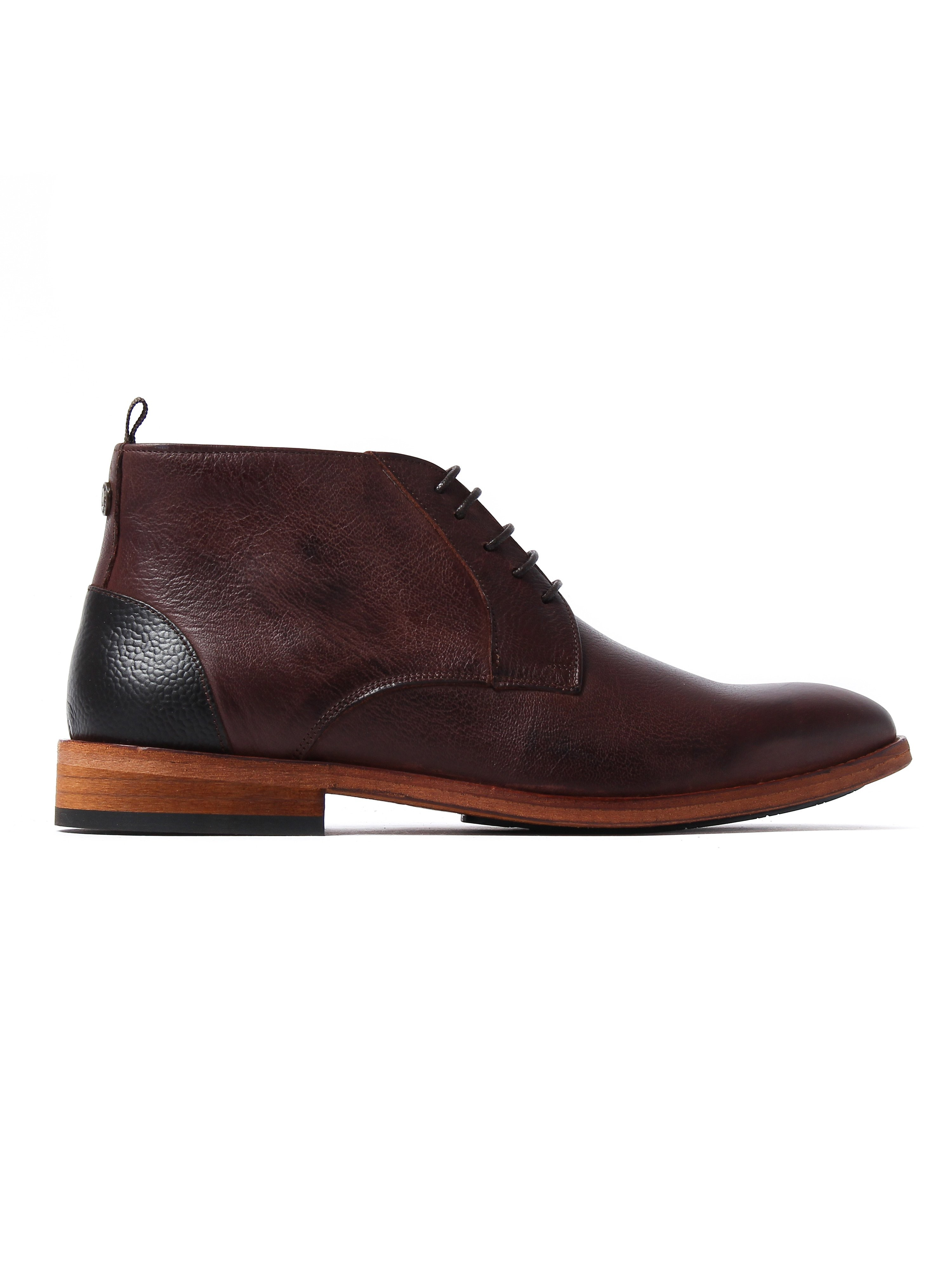 Barbour Men's Benwell Chukka Boots - Brown Leather