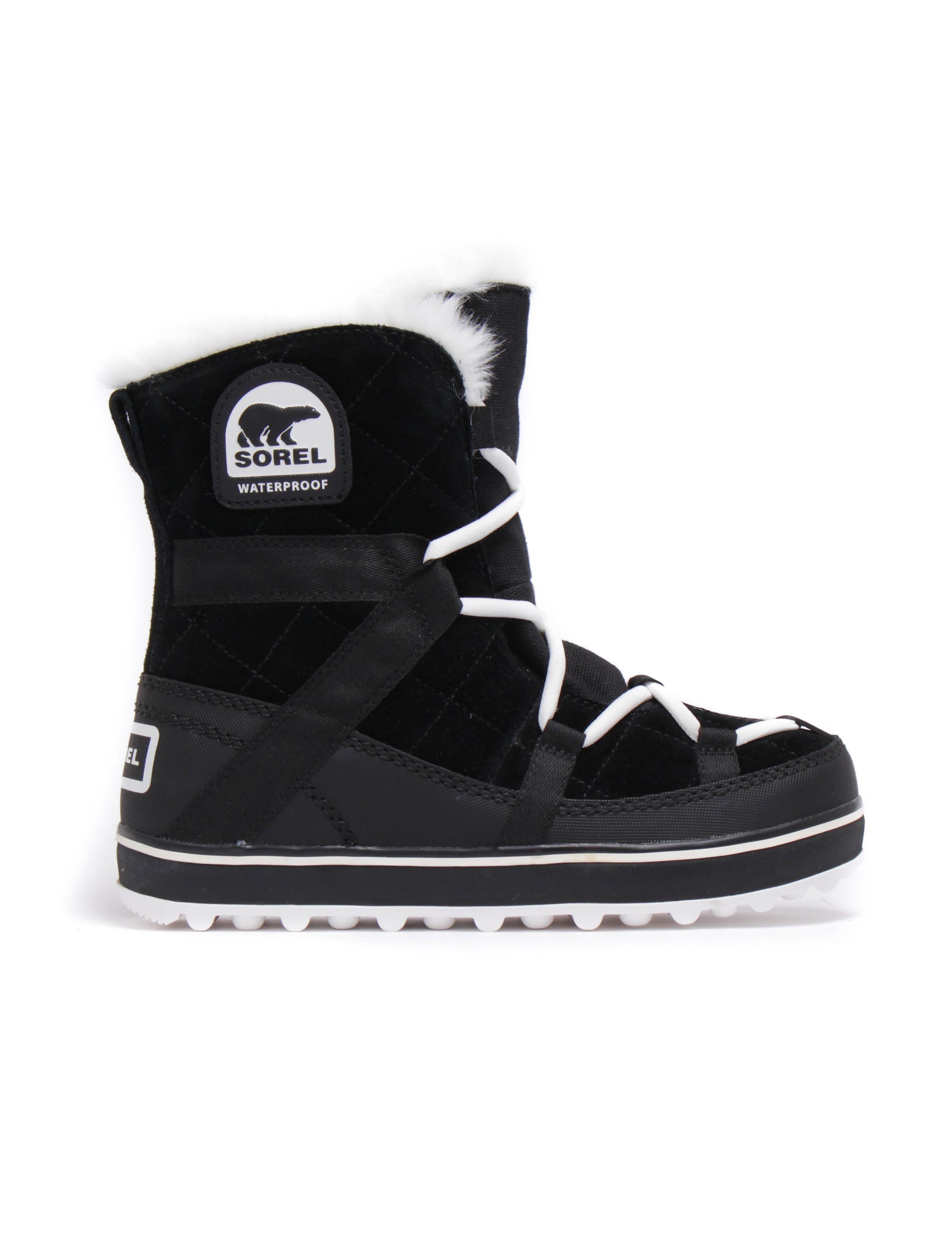 Sorel Women's Glacy Explorer Shortie Boots - Black