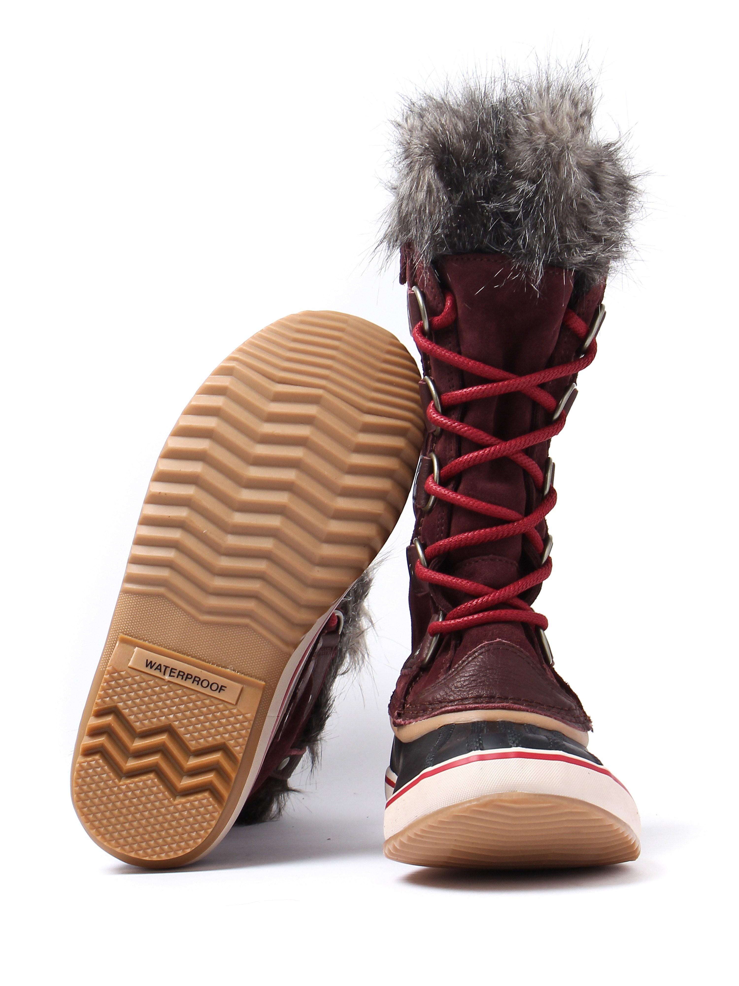 Sorel Women's Joan of Arctic Boots - Redwood Leather