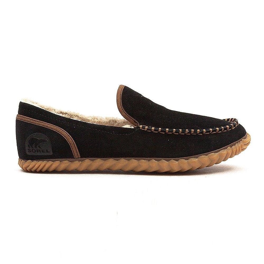 Sorel Men's Dude Moc Slippers - Black