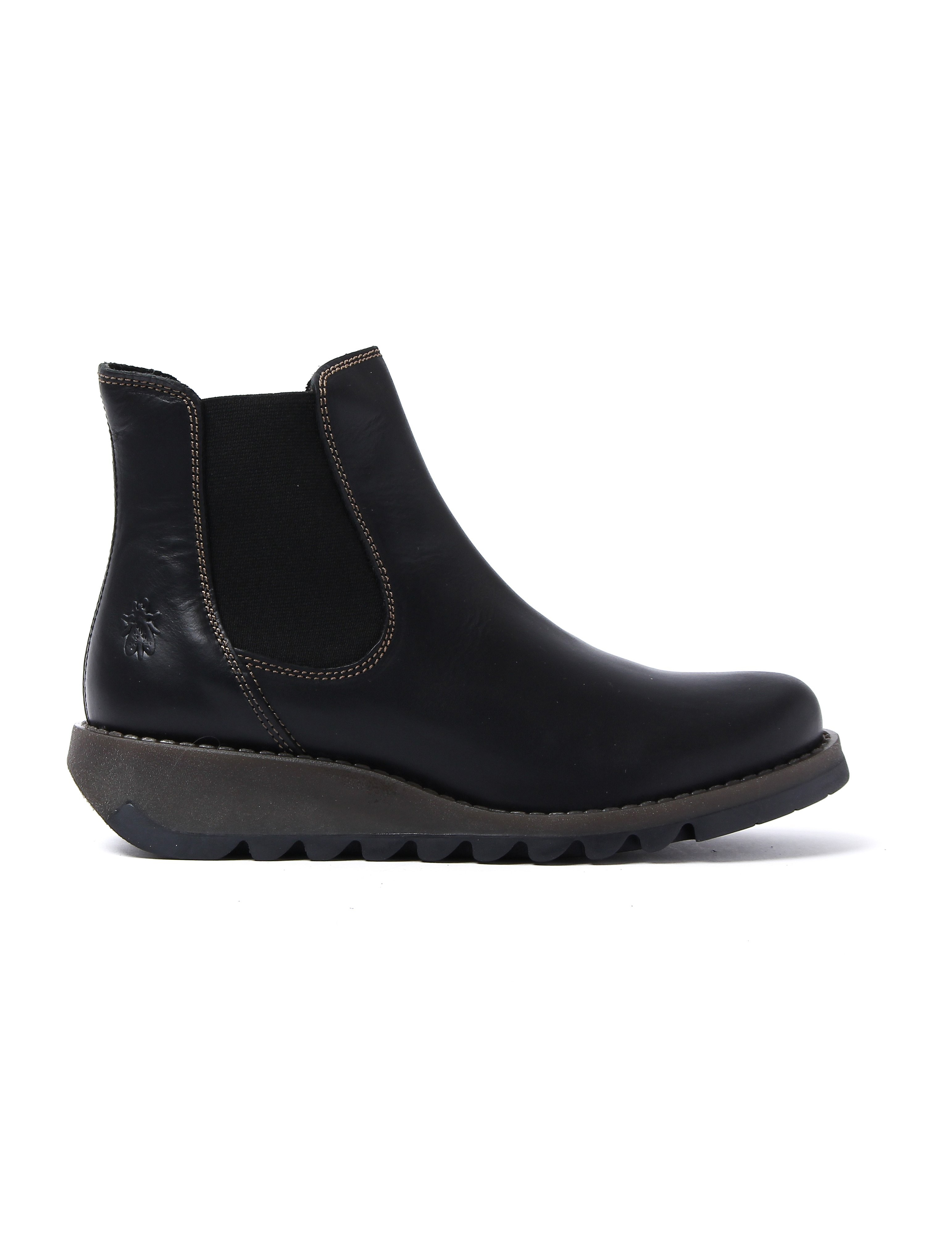 Fly London Women's Salv Chelsea Boots - Black Leather