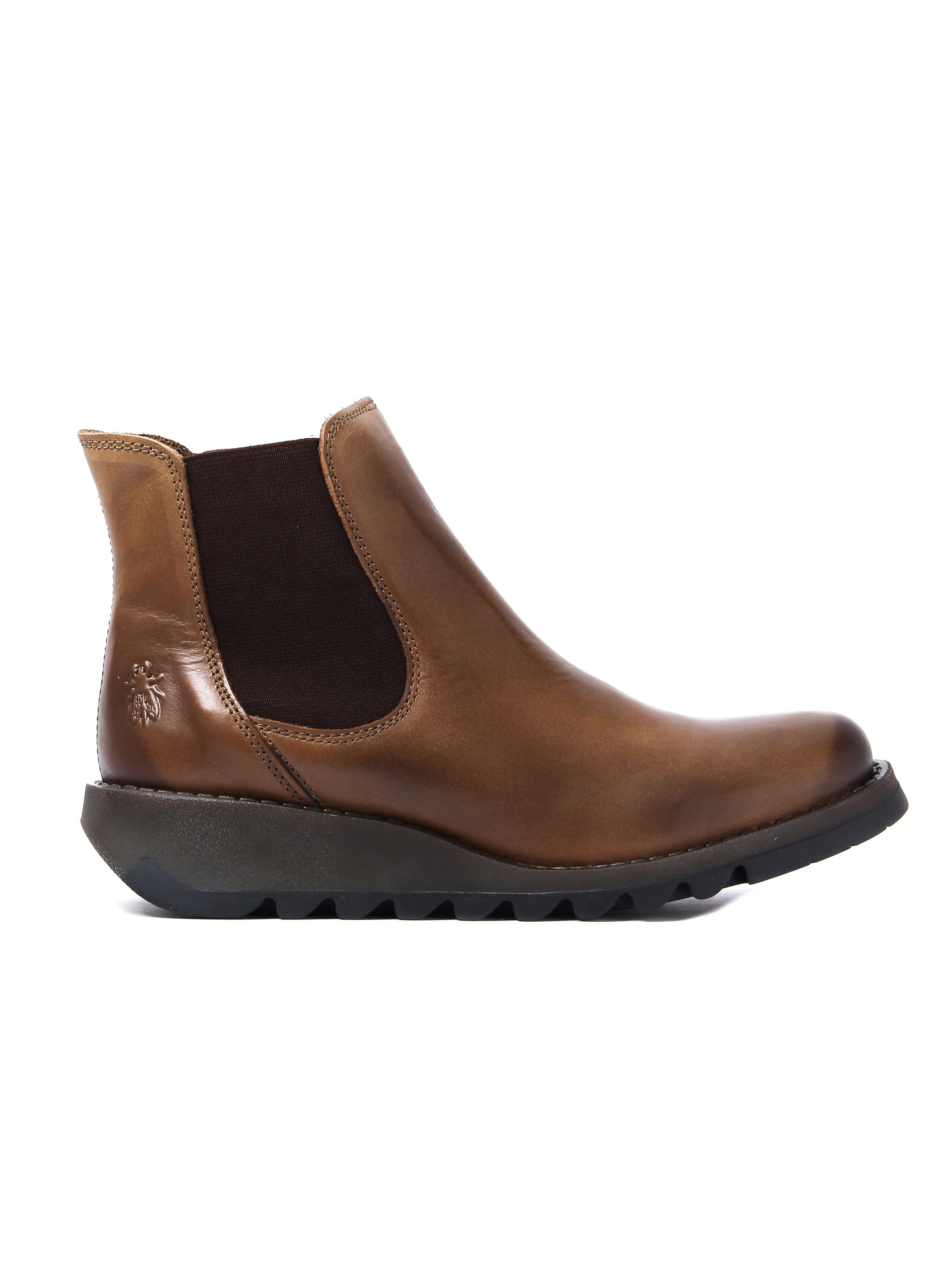 Fly London omen's Salv Chelsea Boots - Camel Leather