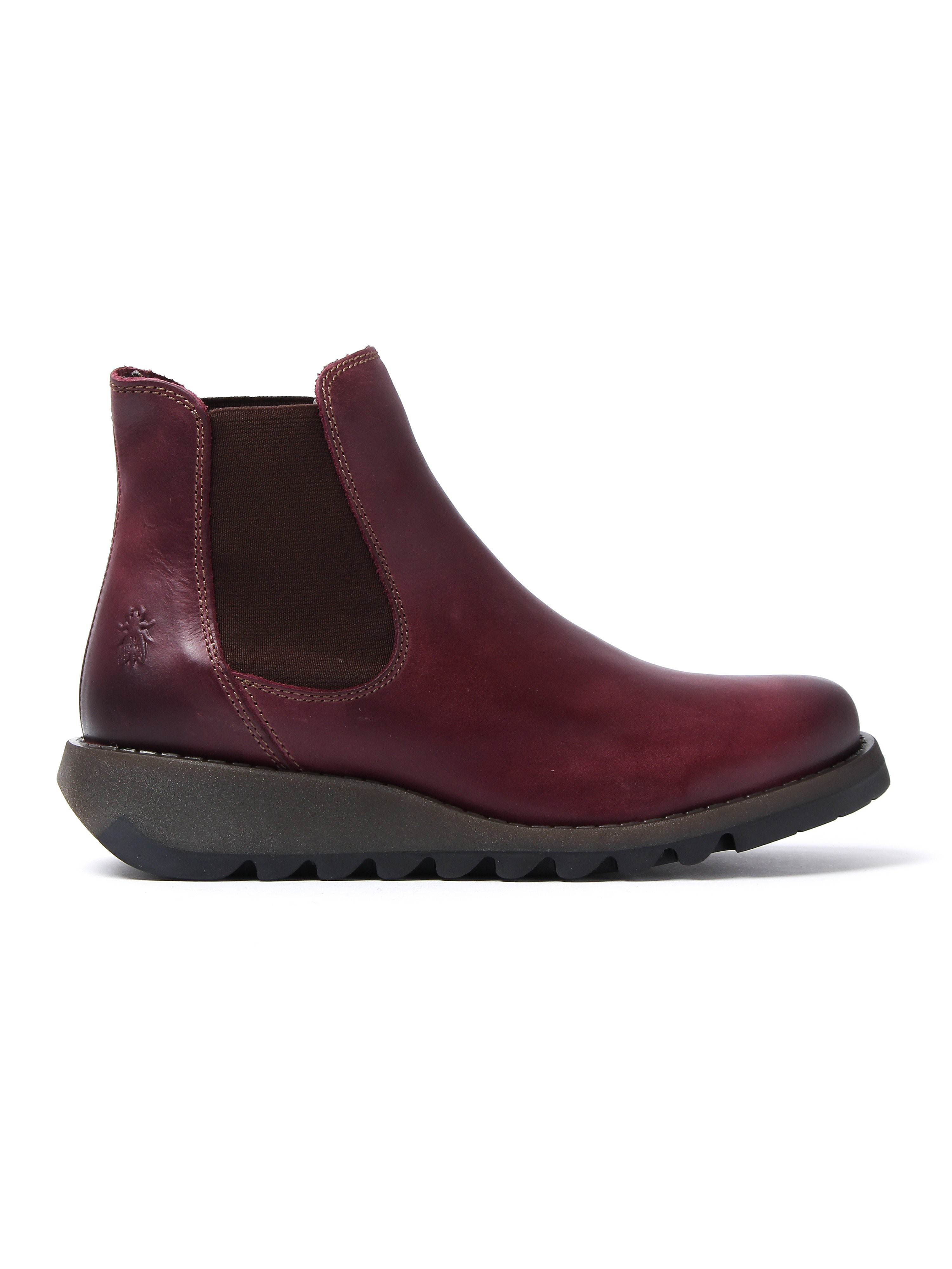 Fly London Women's Salv Chelsea Boots - Purple Leather