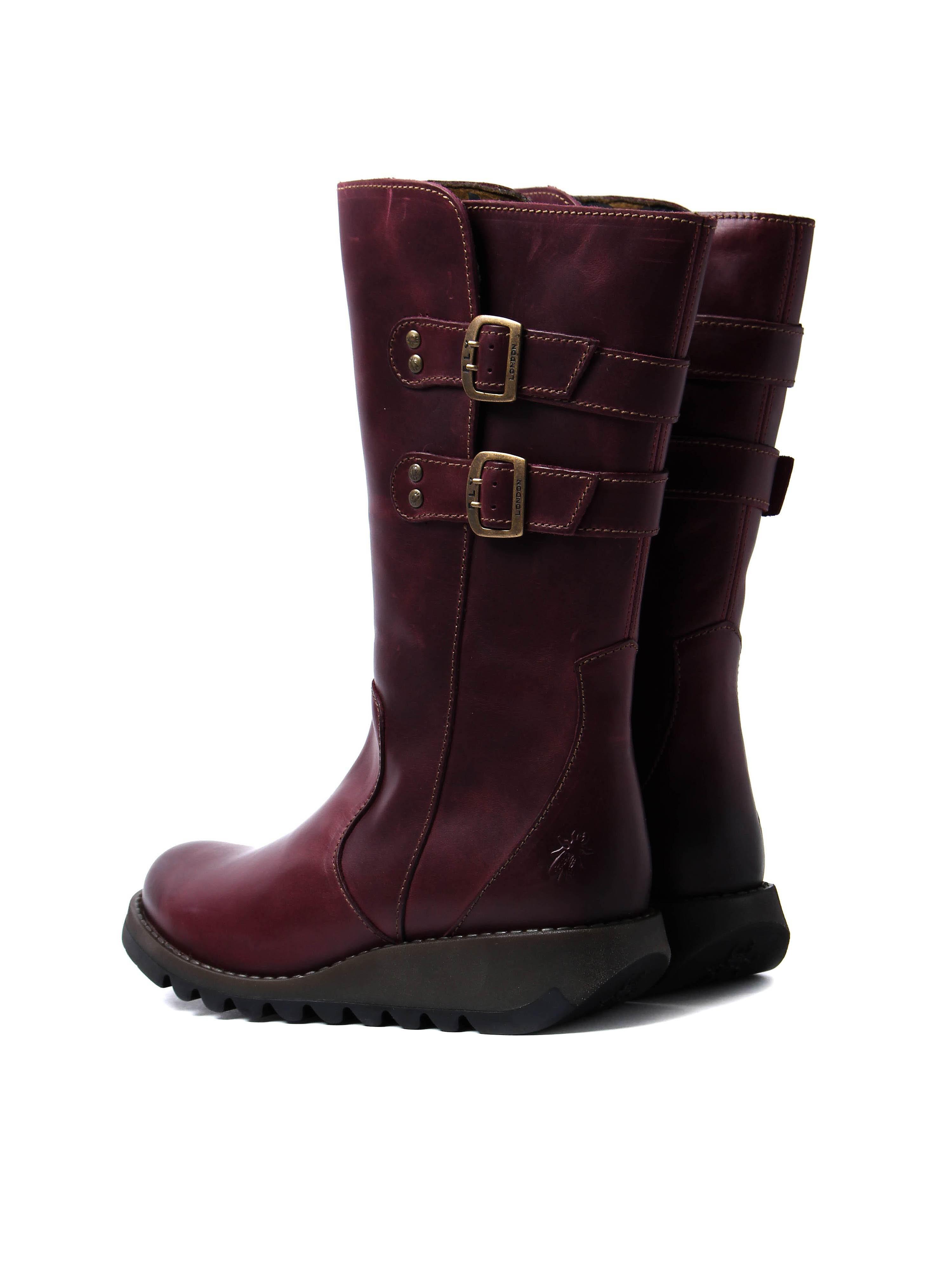 Fly London Women's Suli Mid Calf Boots - Purple