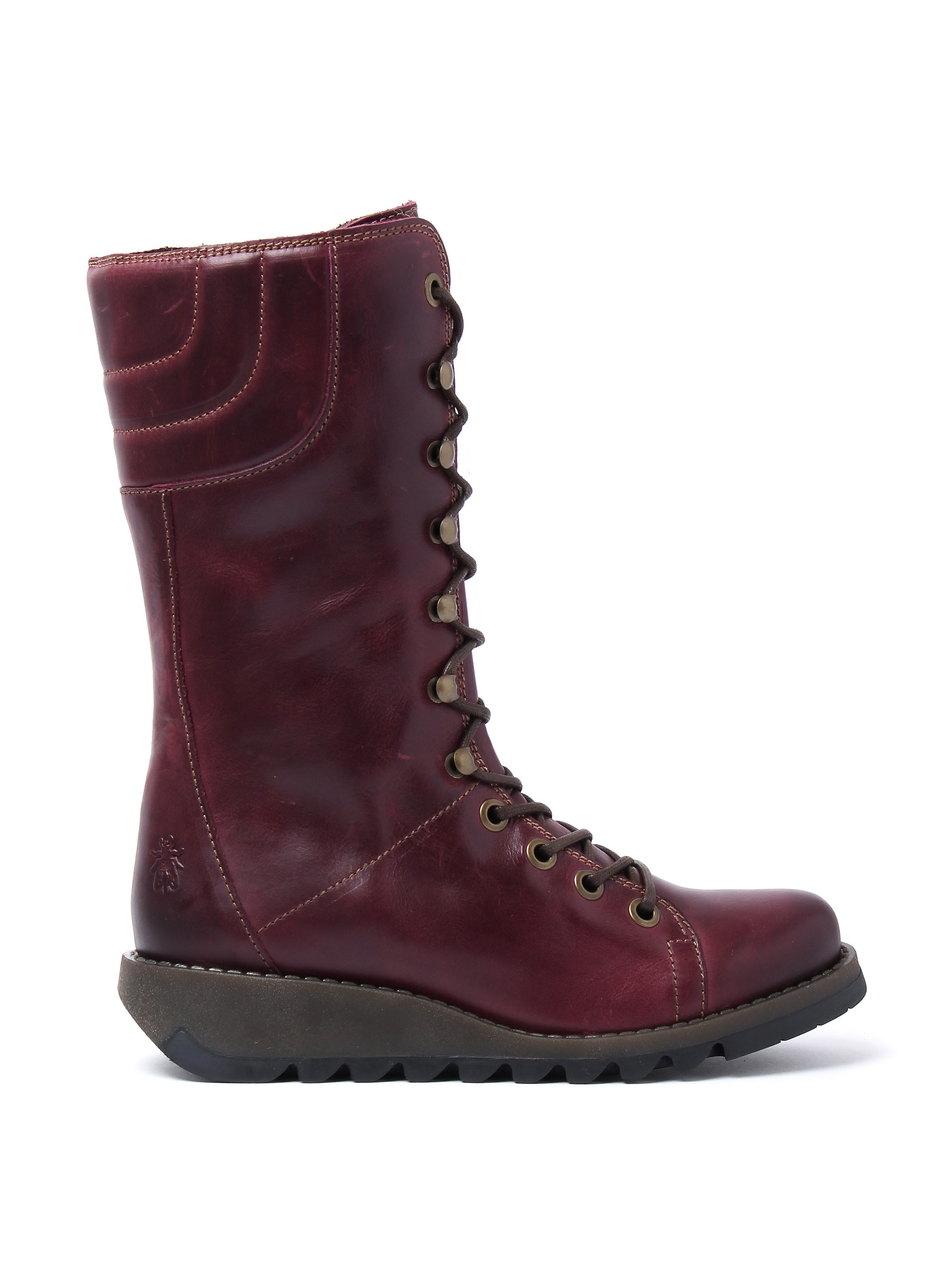 Fly London Women's Ster768fly Rug Boots - Purple Leather