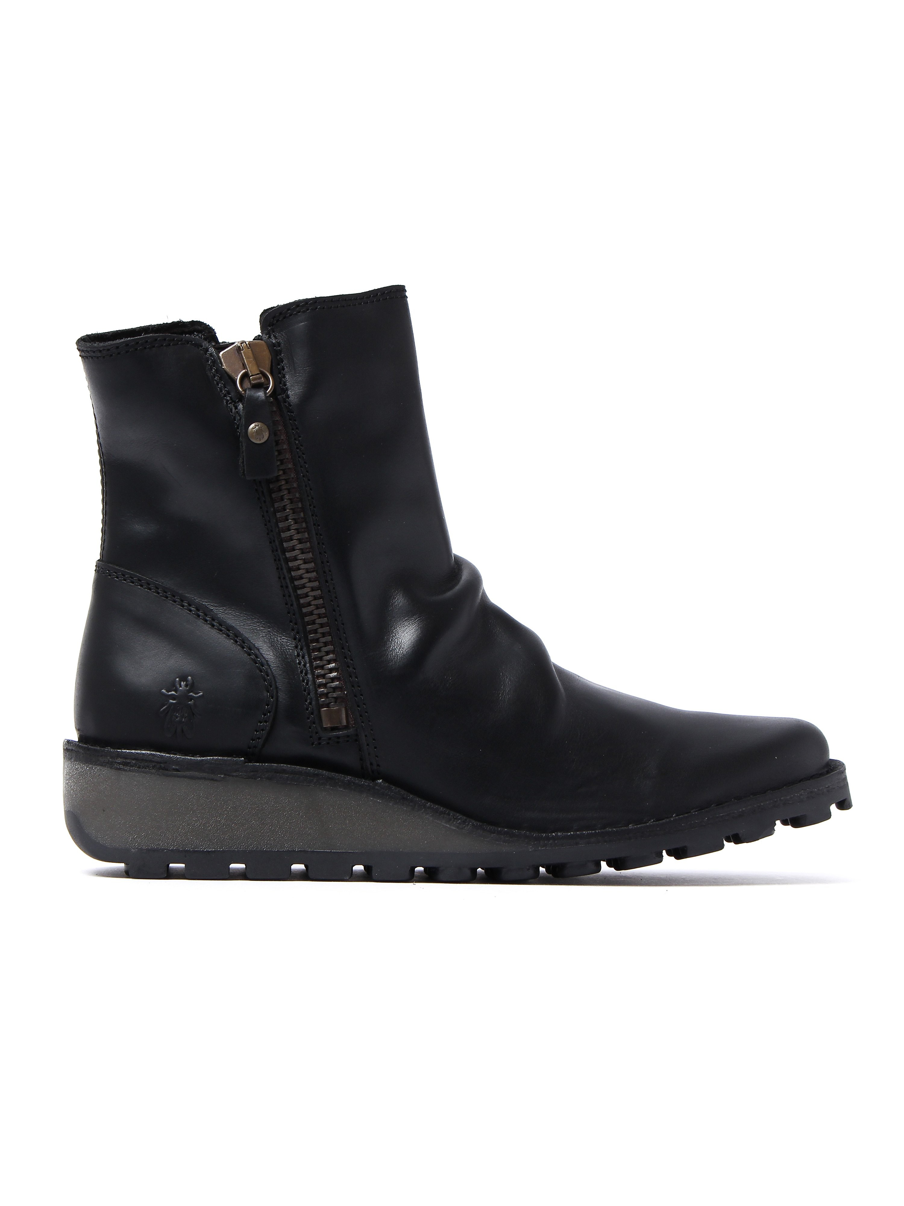 Fly London Women's Mong Boots – Black Leather