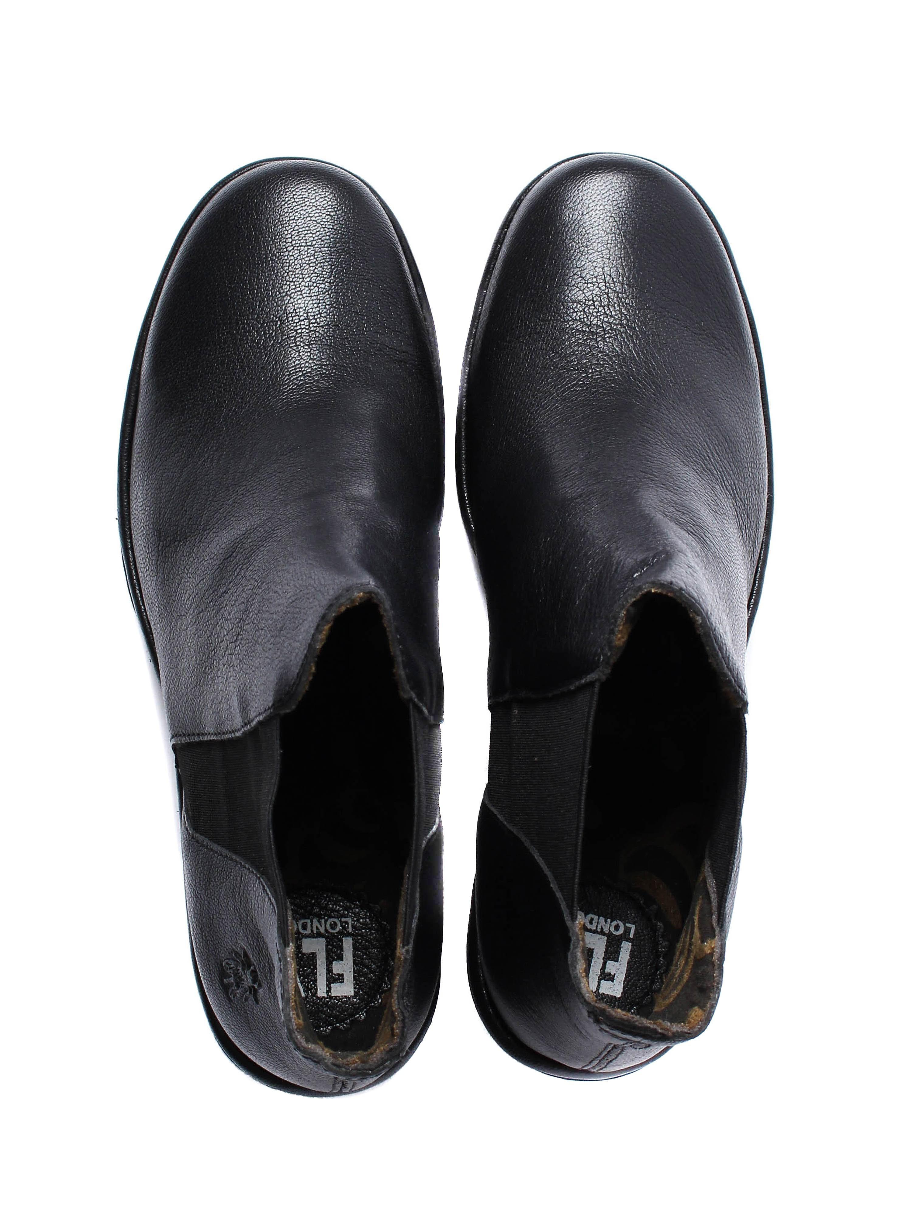 Fly London Women's Yoss Chelsea Boots - Black Leather