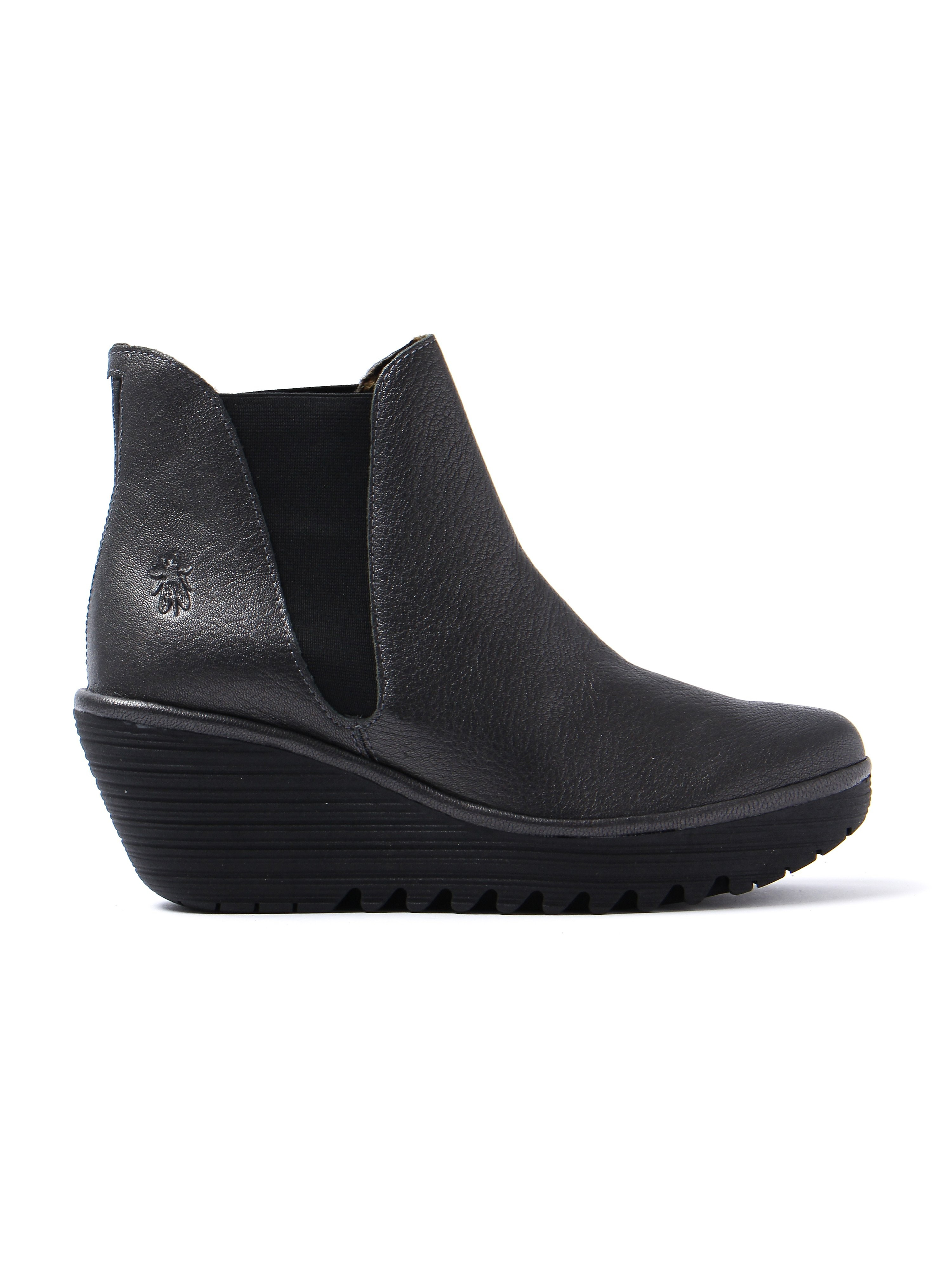 Fly London Women's Yoss Chelsea Boots - Graphite Leather