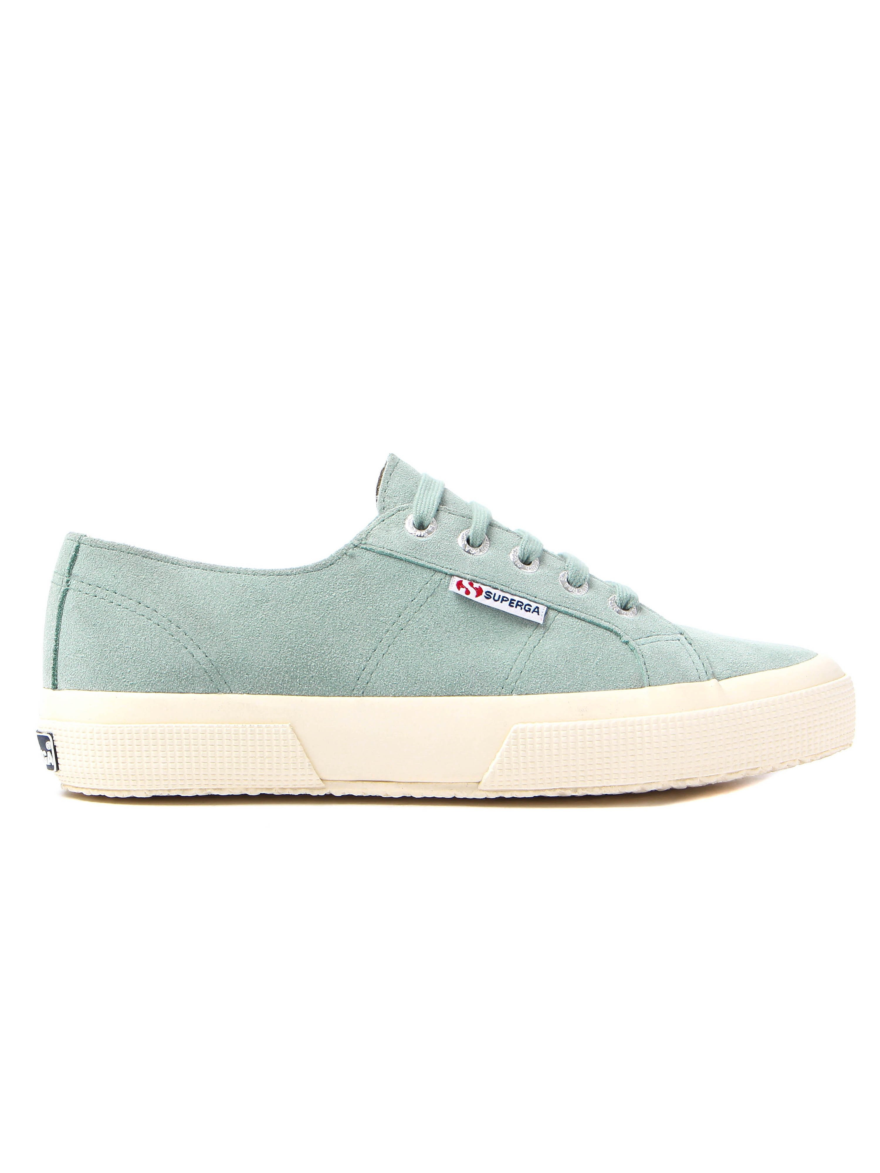 Superga Women's 2750 Sueu Trainers –Sage Green Suede