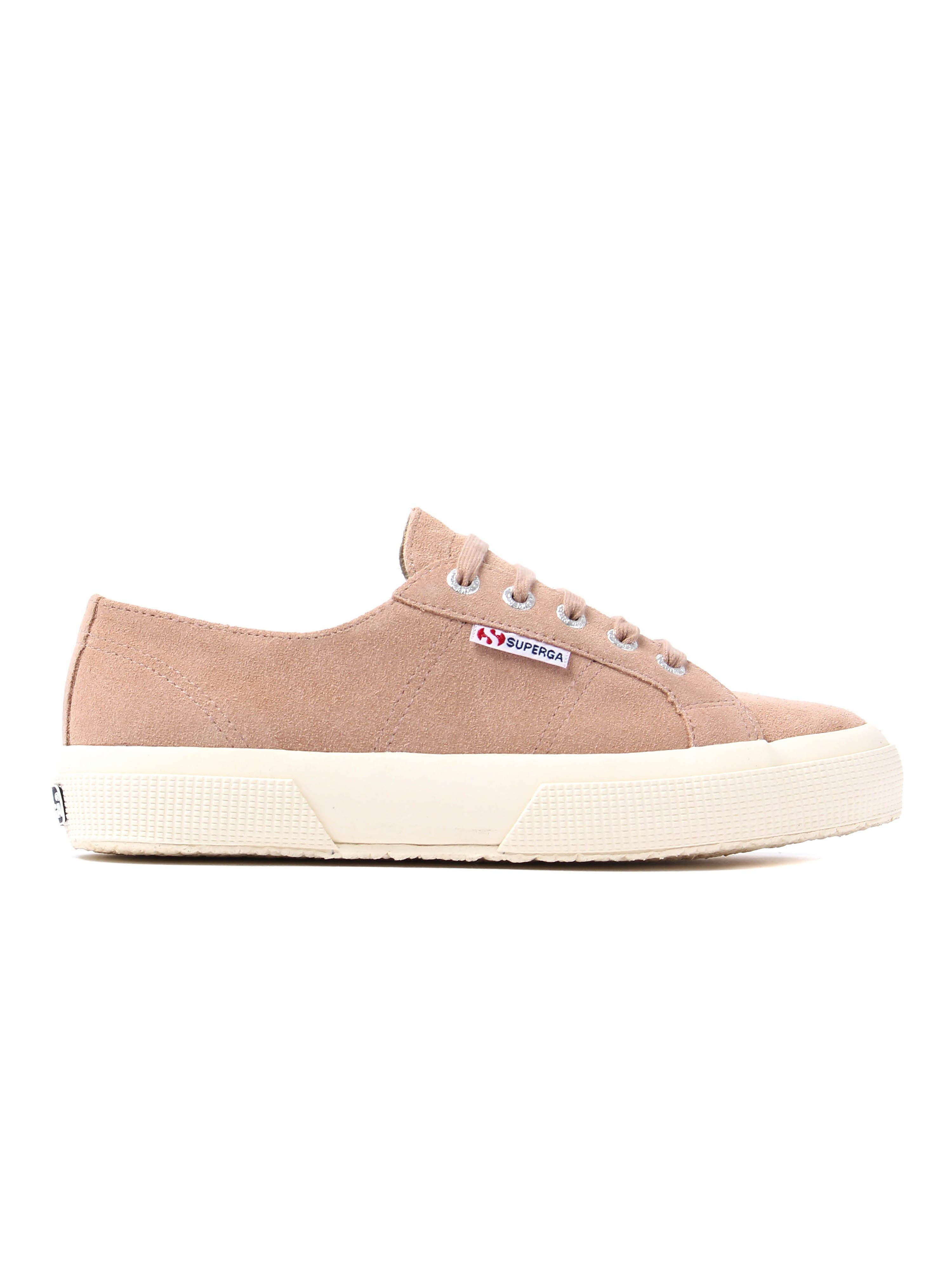 Superga Women's 2750 Sueu Trainers – Nude Suede