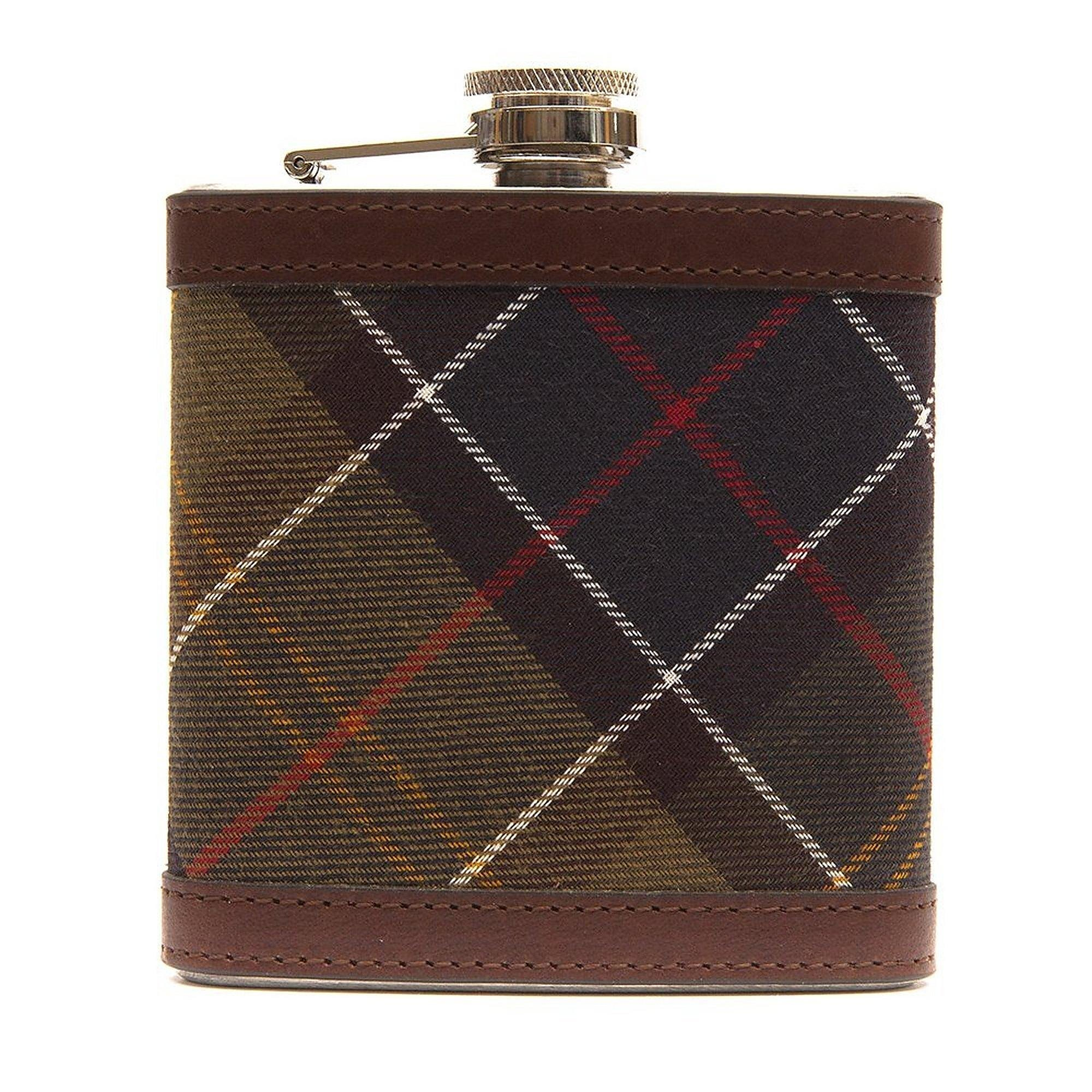Barbour Hip Flask - Classic Tartan