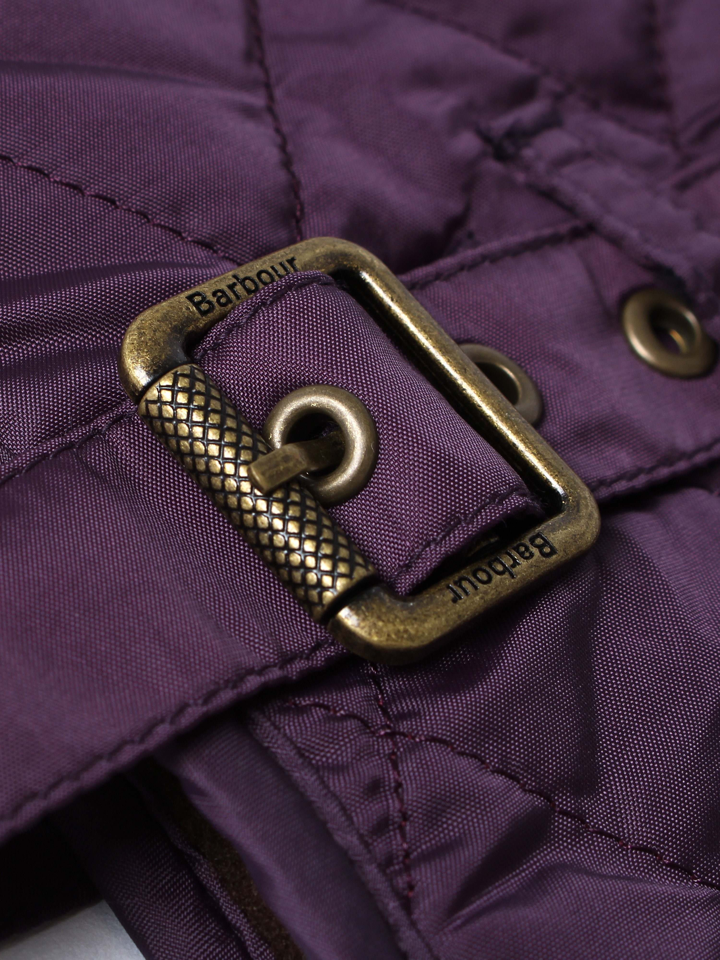 Barbour Quilted Dog Coat - Purple