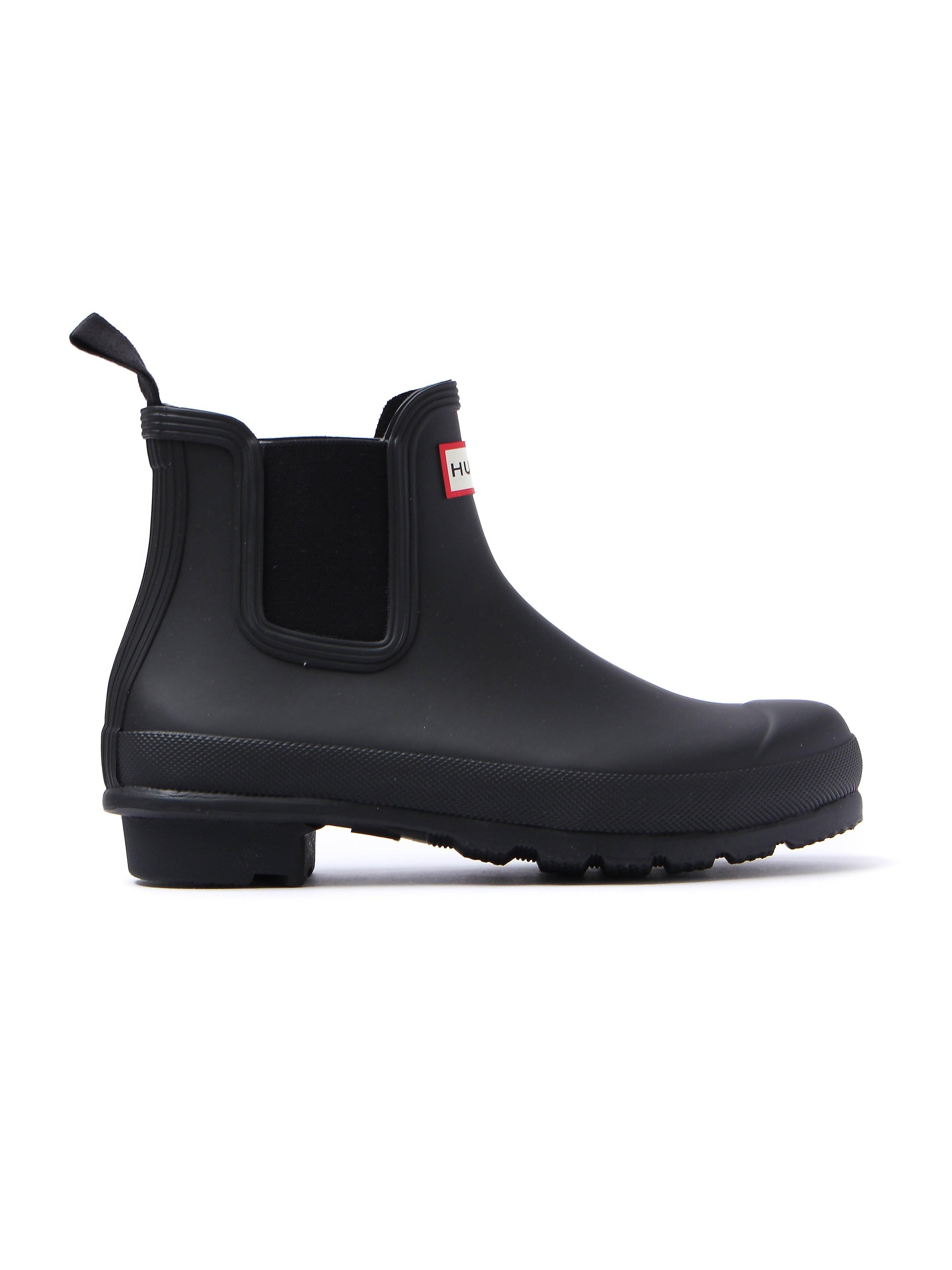 Hunter Wellies Women's Original Chelsea Boots - Black