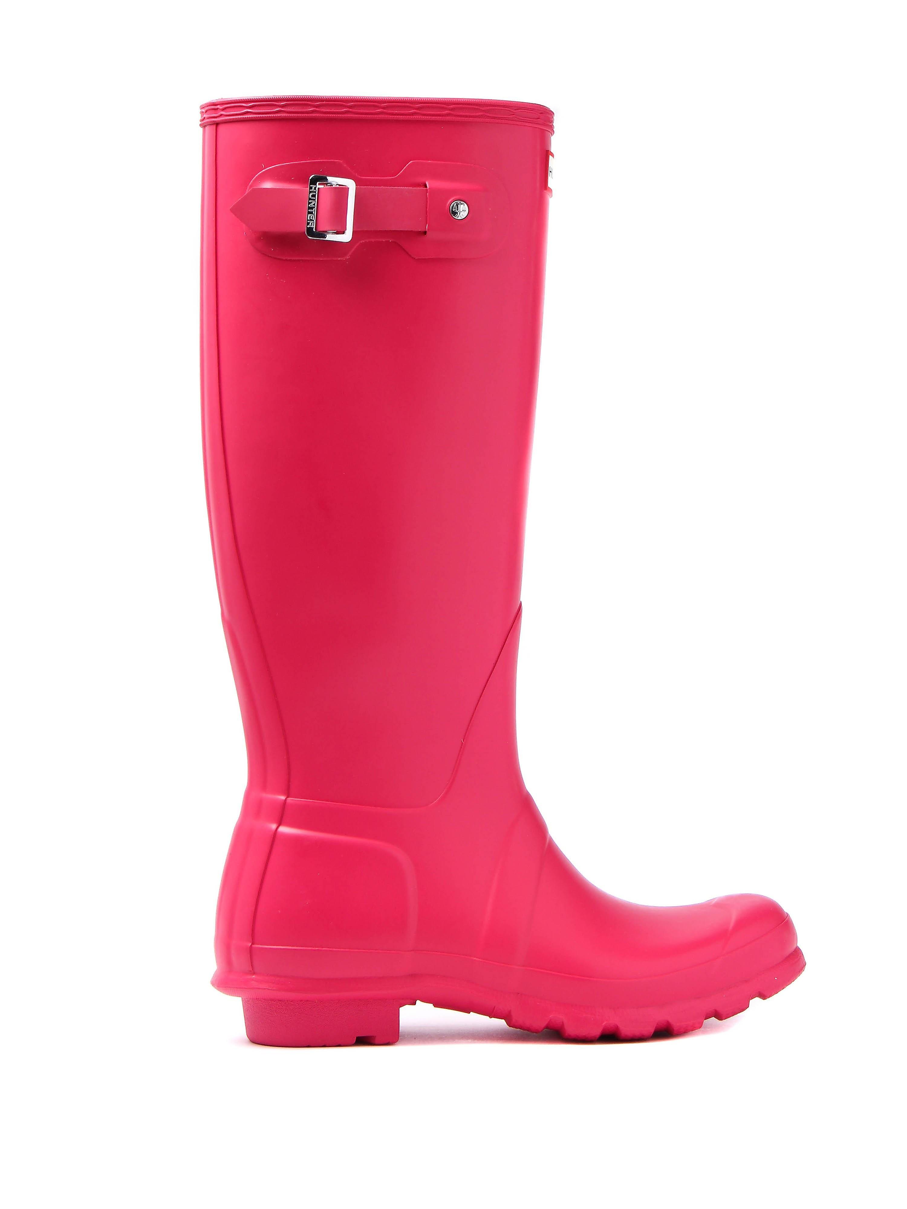 Hunter Wellies Women's Original Tall Wellington Boots - Bright Pink