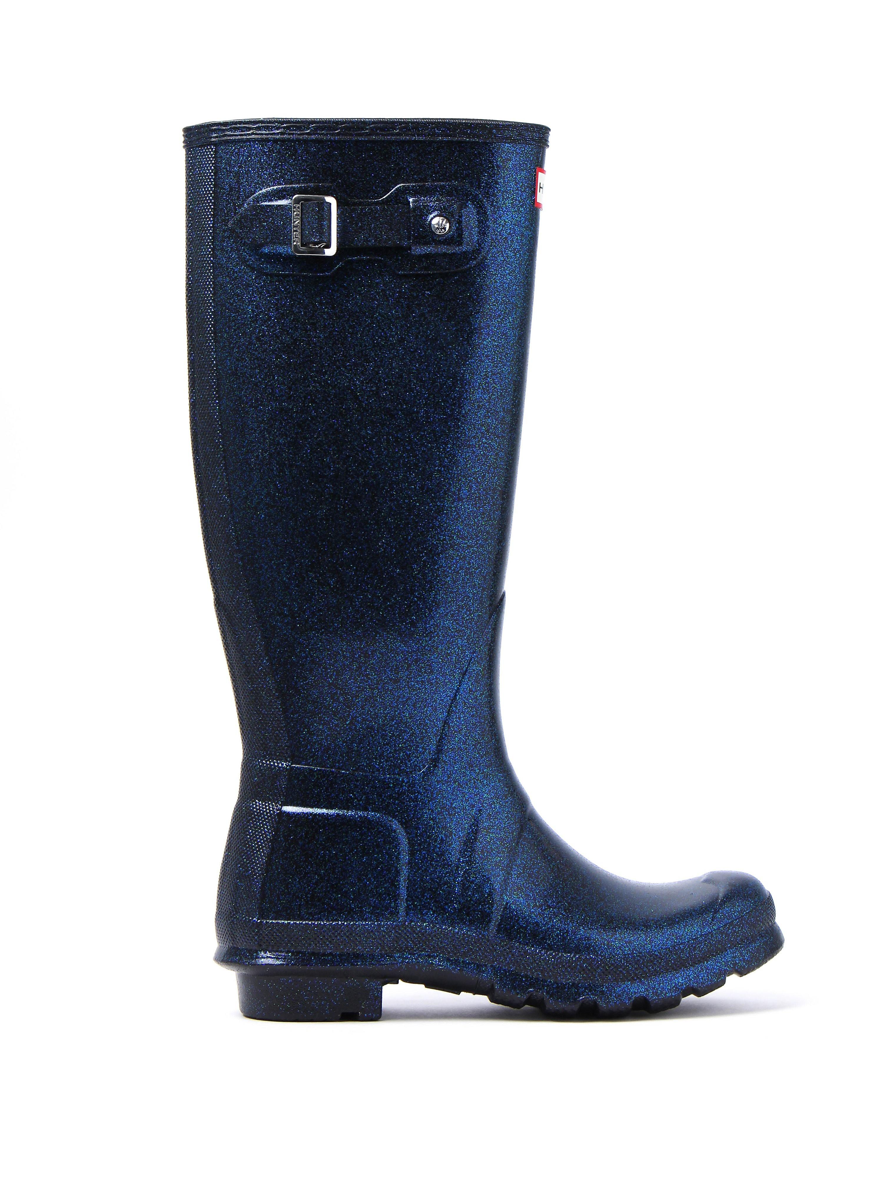 Hunter Wellies Women's Original Starcloud Tall Wellington Boots - Neptune
