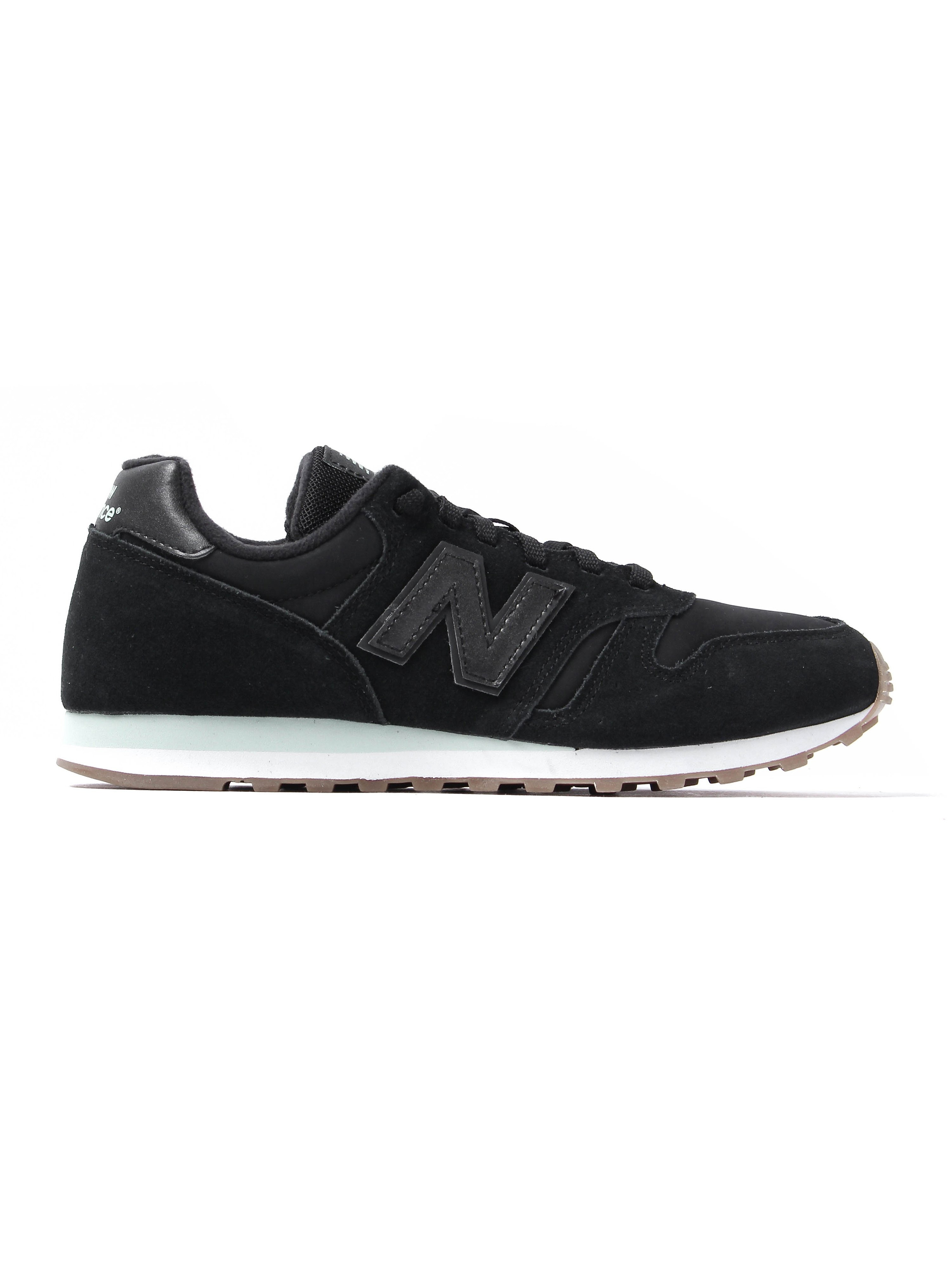 New Balance Women's 373 Suede Trainers - Black