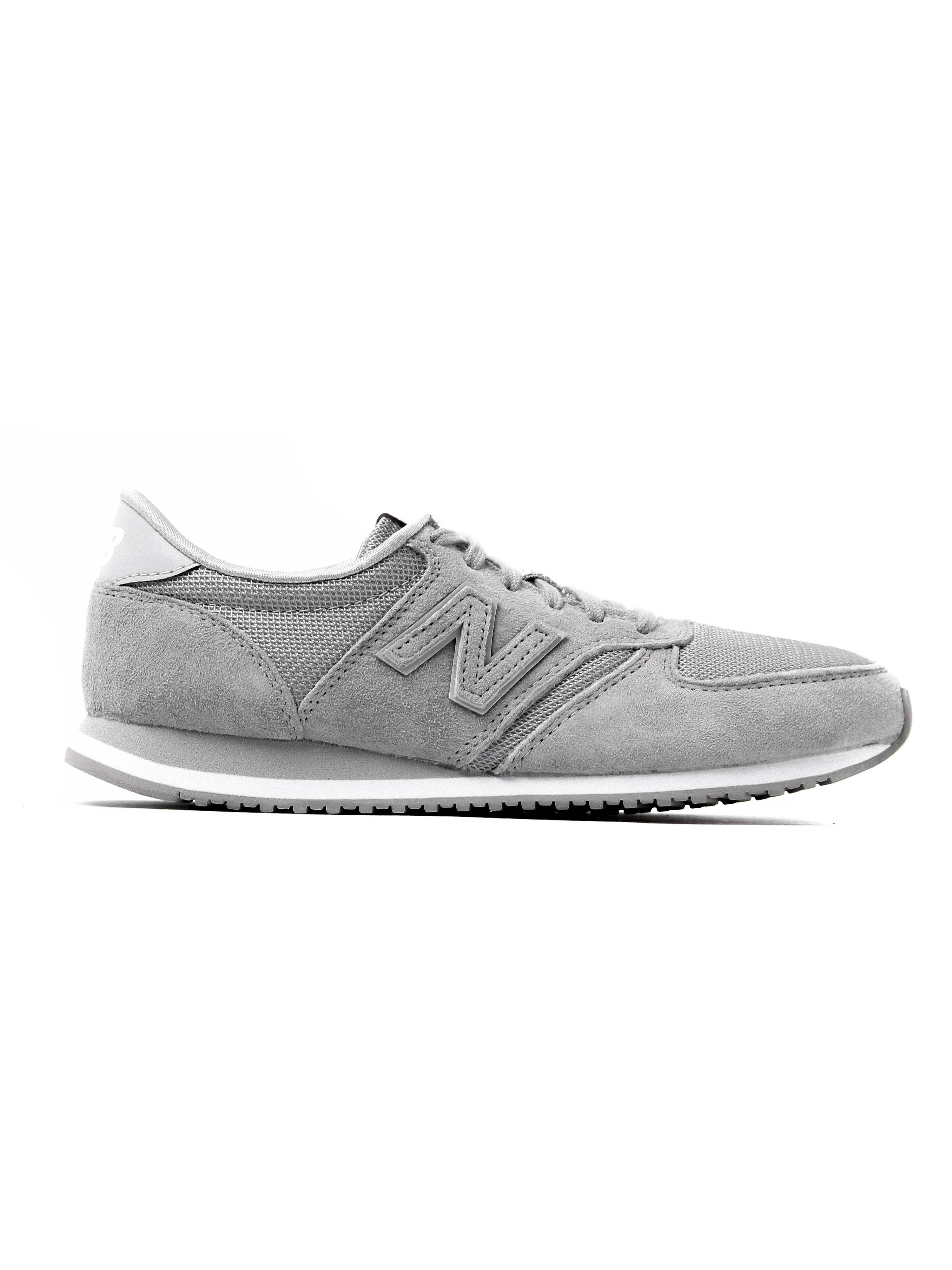 New Balance Women's 420 Trainers - Pale Grey Suede