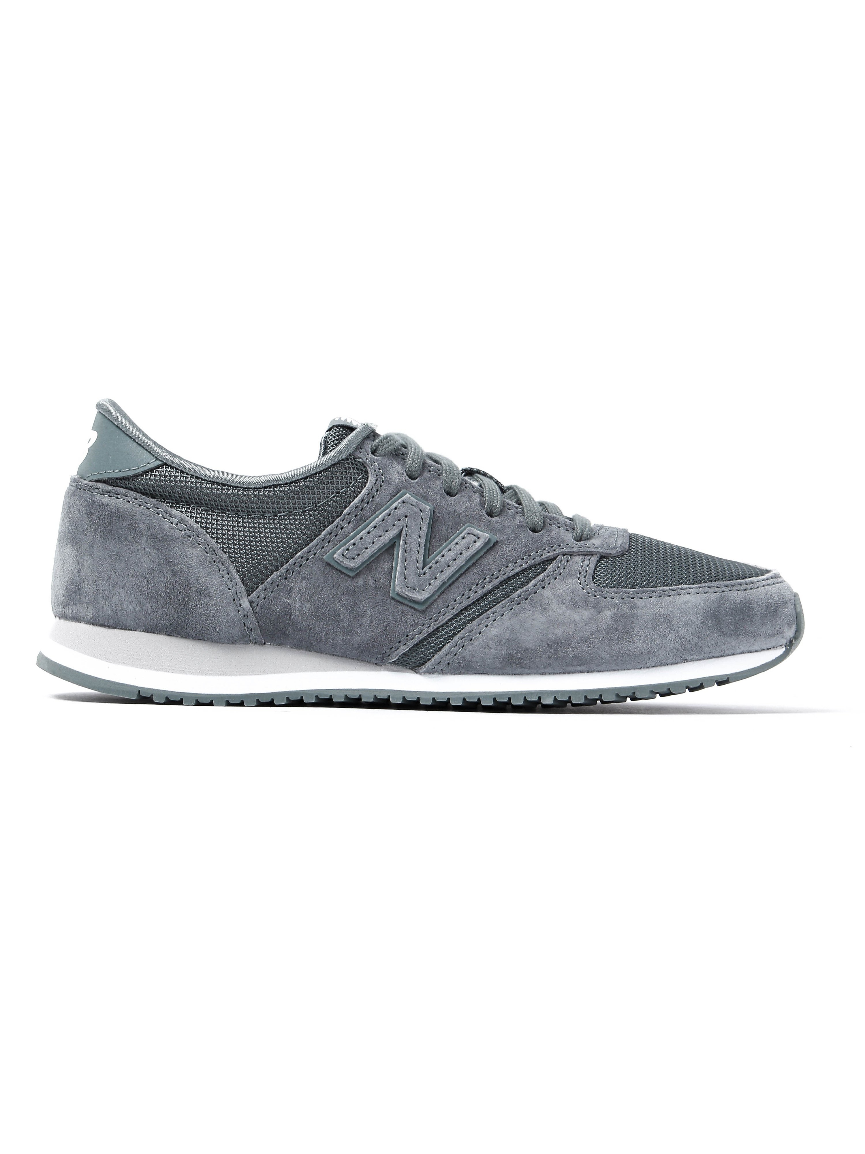 New Balance Women's 420 Trainers - Grey Suede