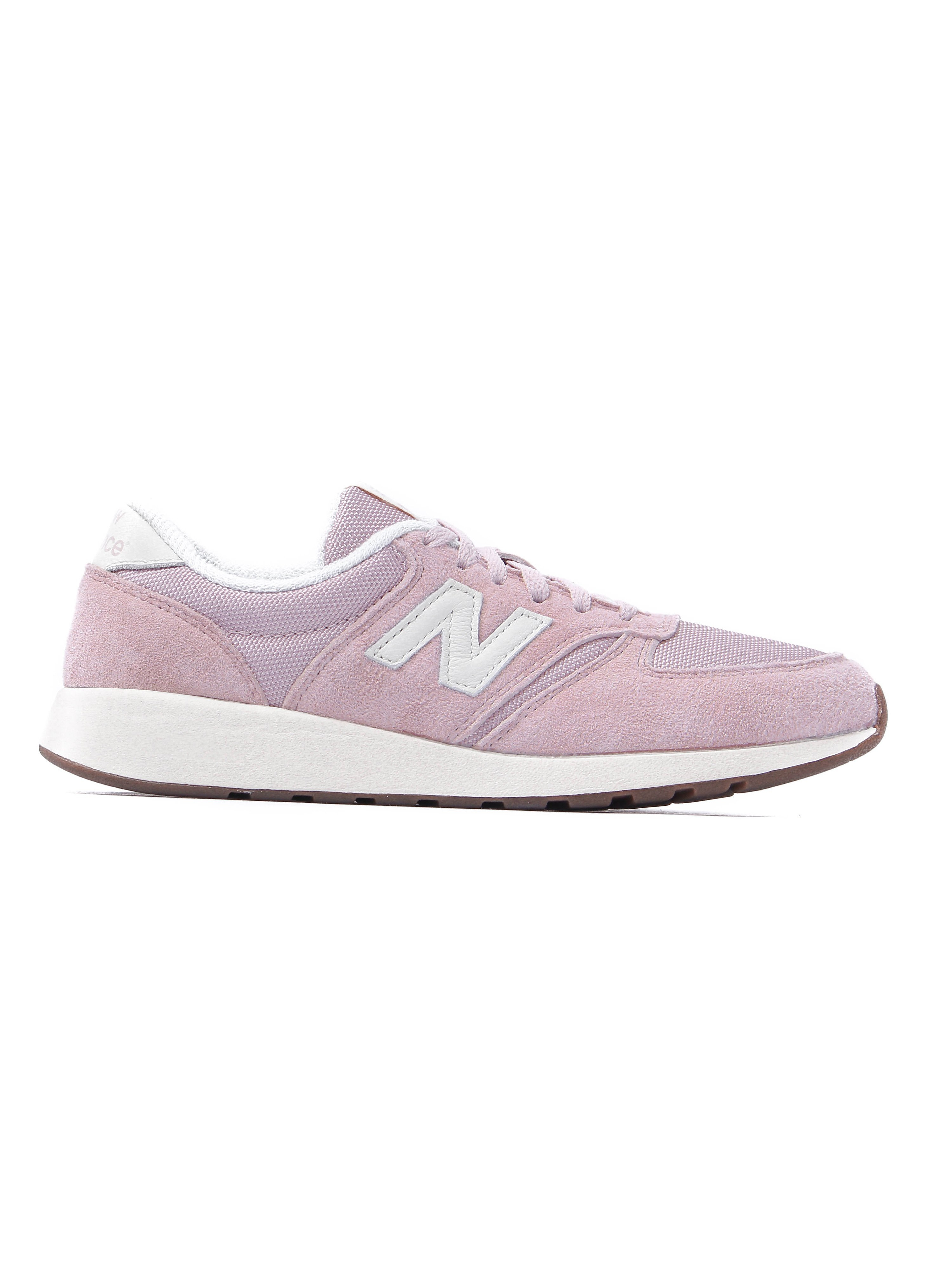 New Balance Women's 420 Trainers - Pink Suede
