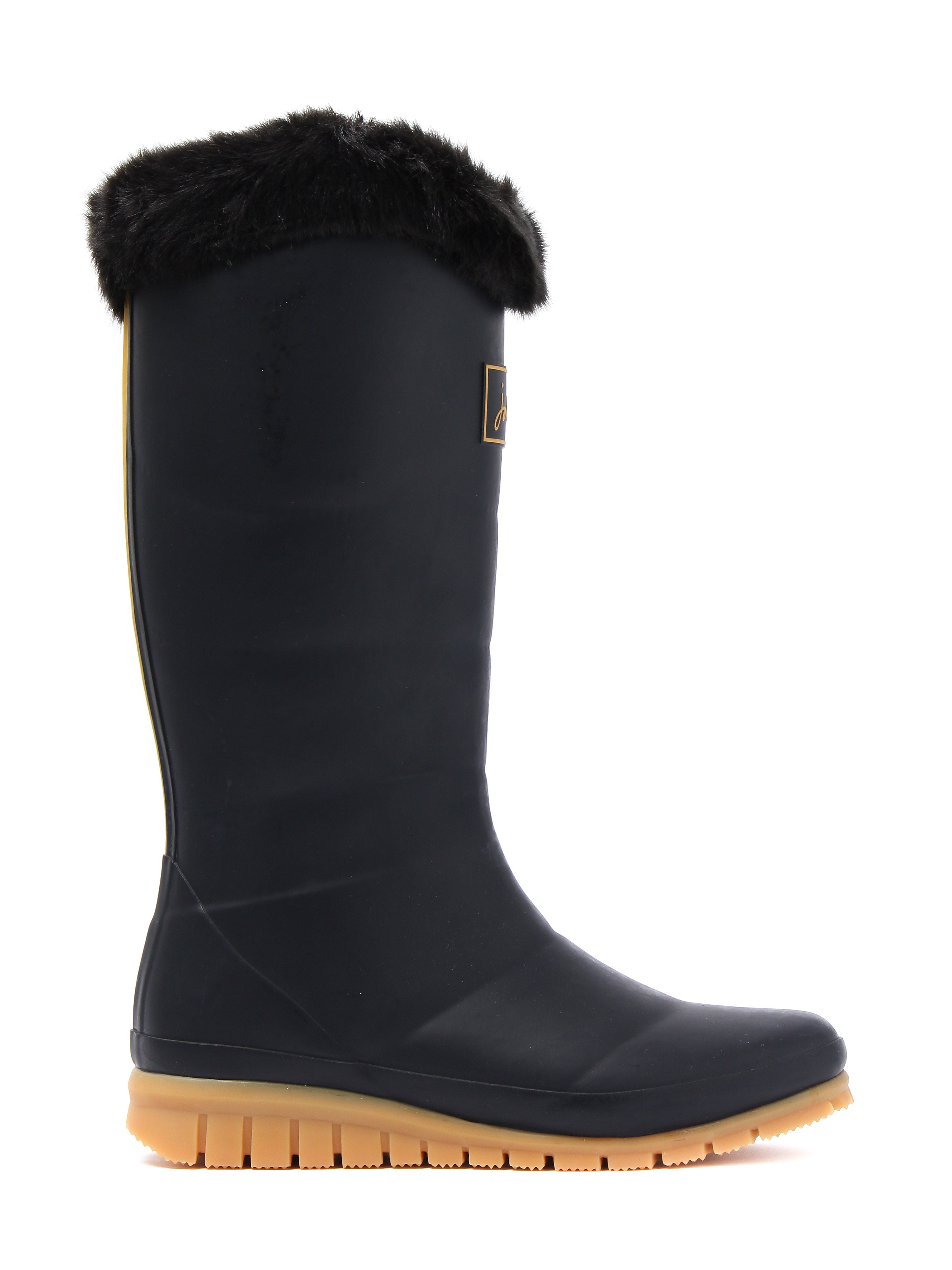Joules Women's Downton Rubber Wellington Boots - Black