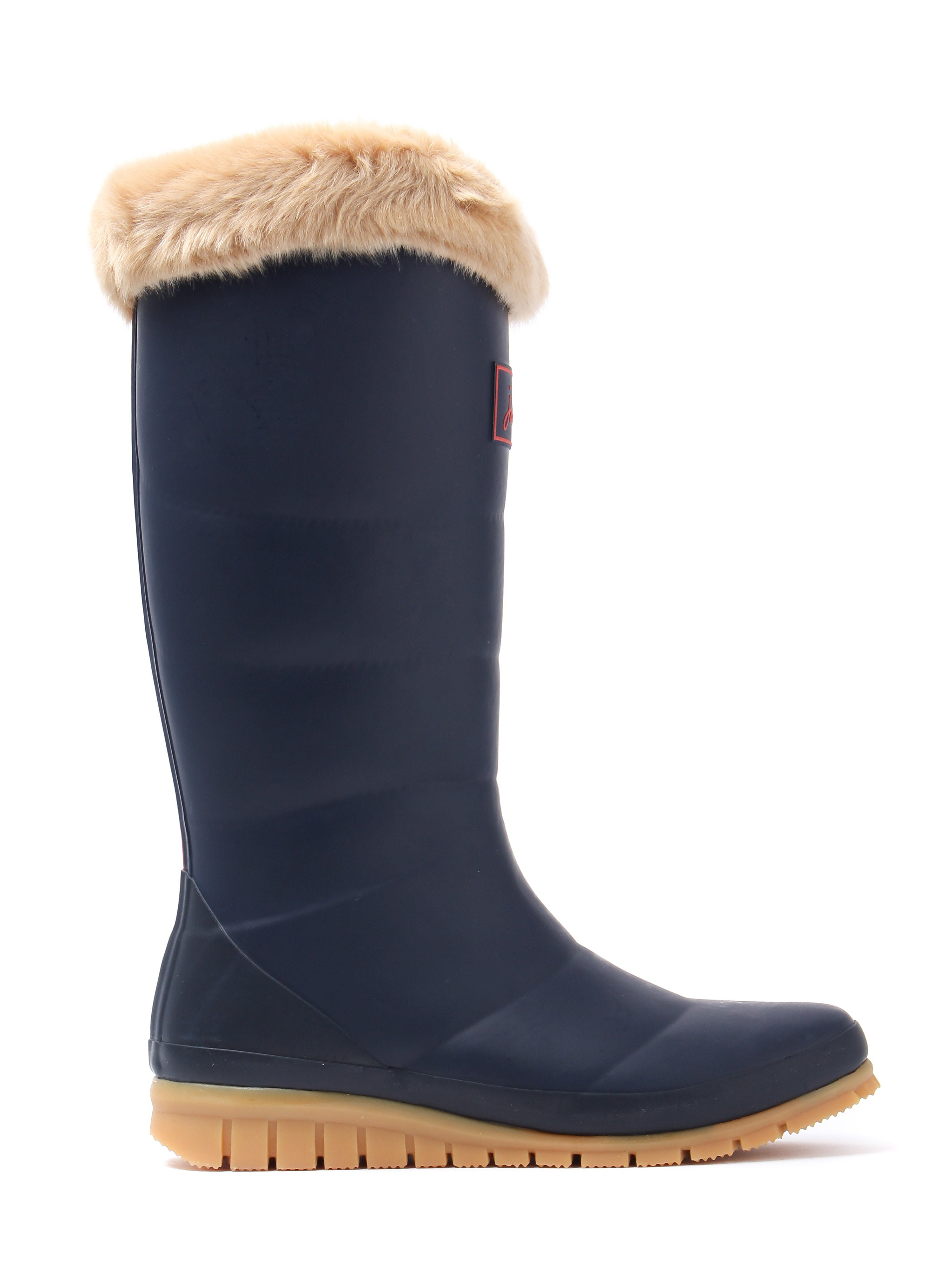 Joules Women's Downton Rubber Wellington Boots - French Navy
