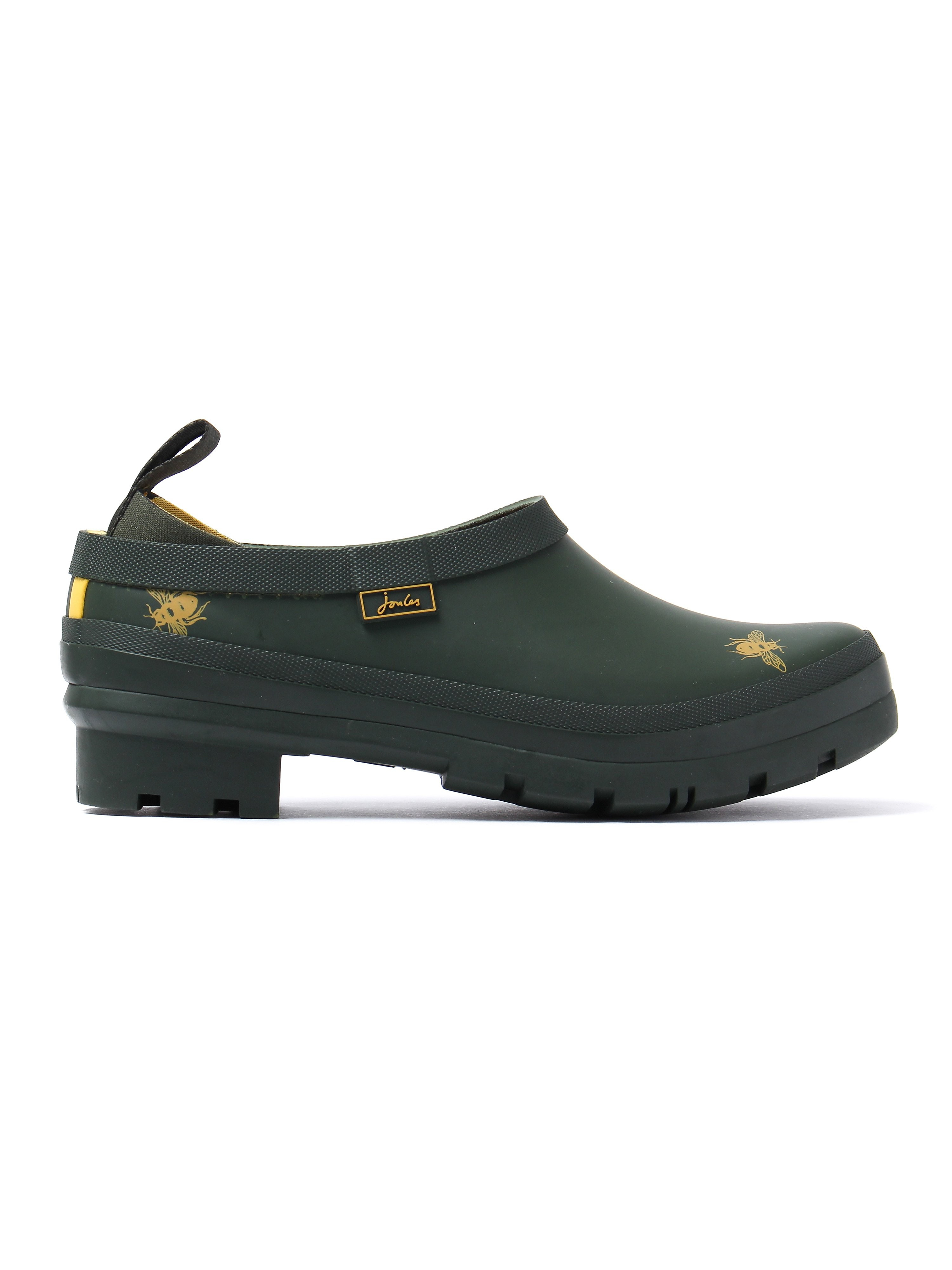 Joules Women's Pop-On Welly Clogs - Olive Bees