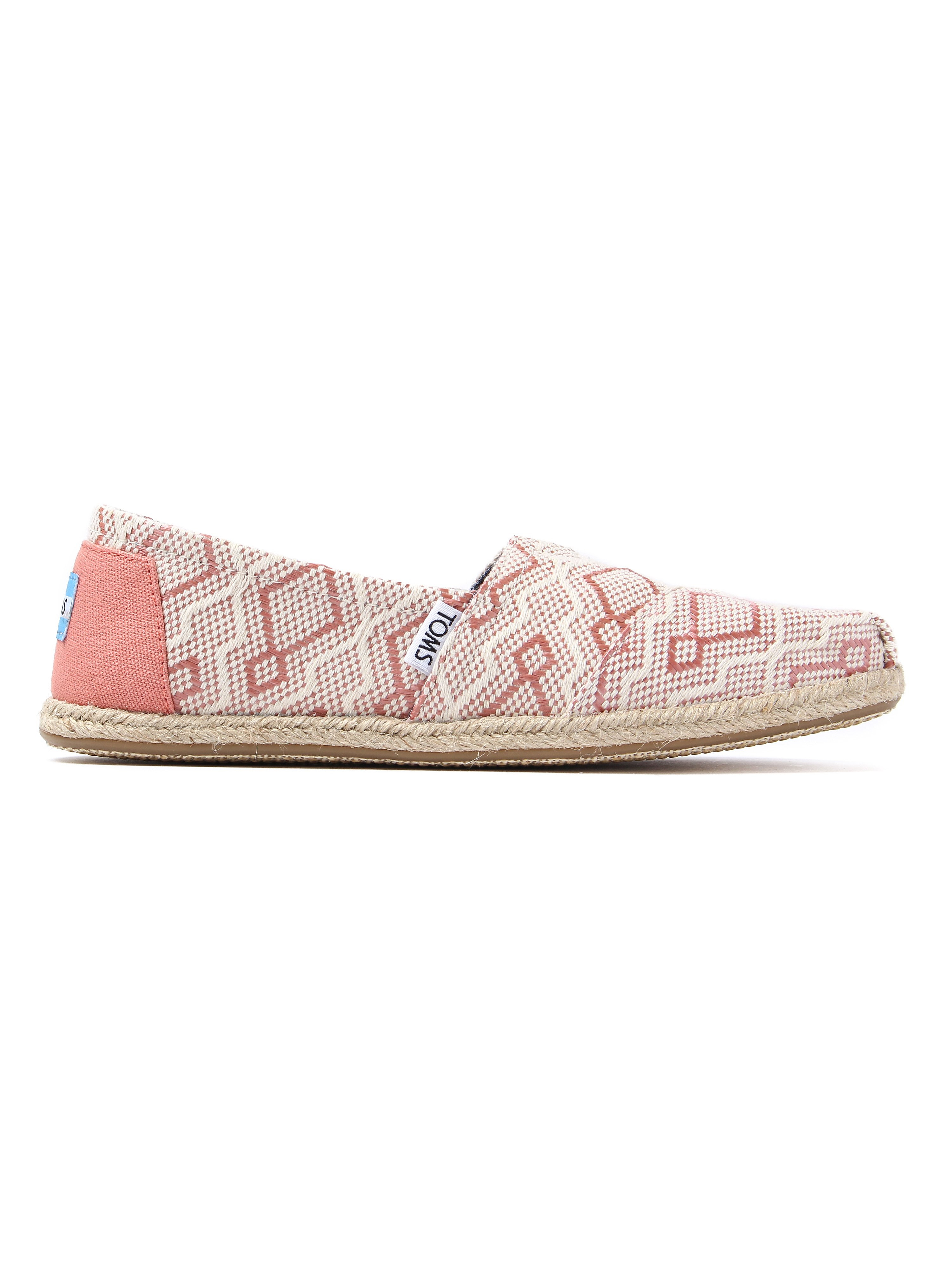 Toms Women's Classic Jacquard Rope Sole - Clay