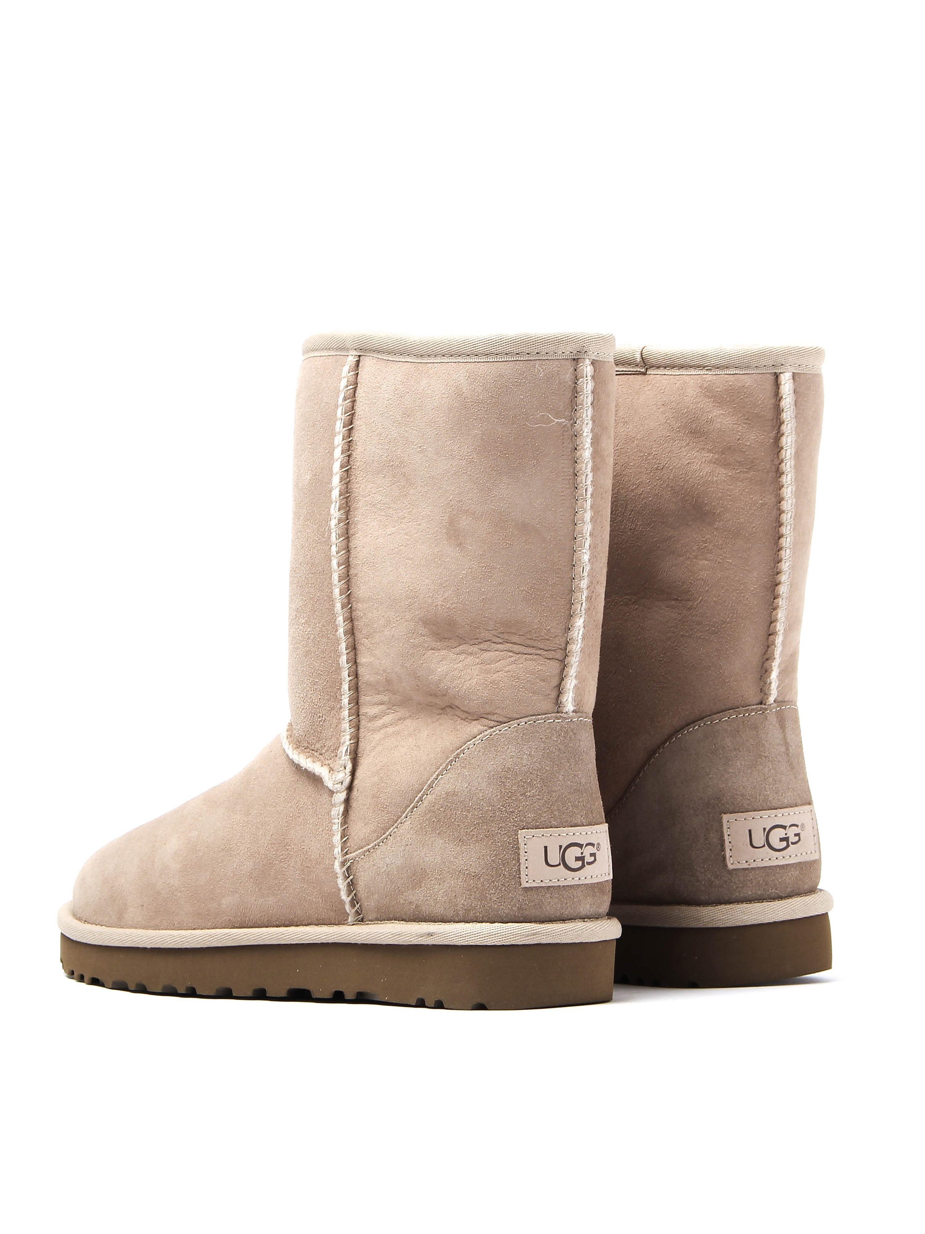 UGG Women's Classic Short II Sheepskin Boots - Sand
