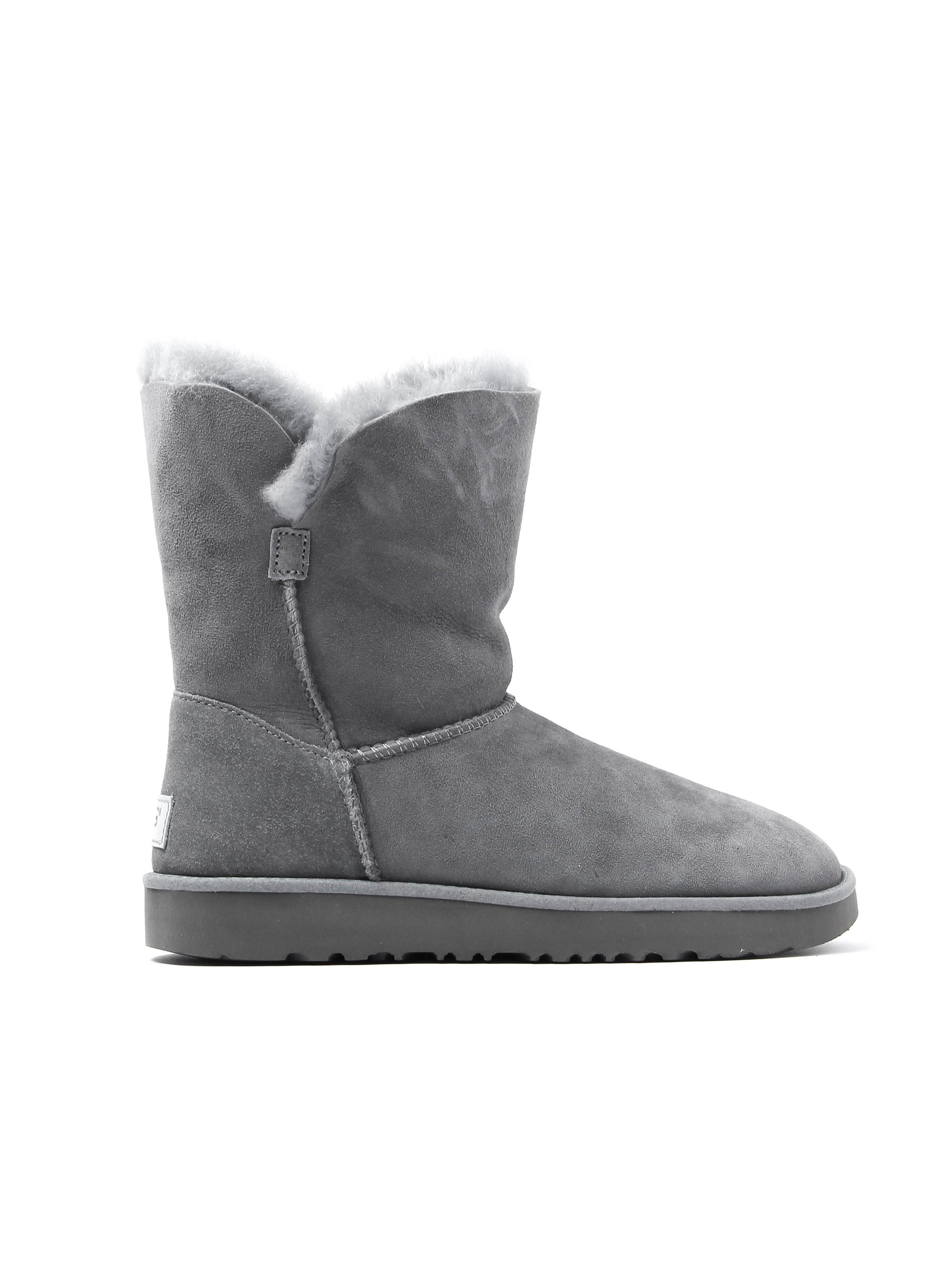 UGG Women's Classic Cuff Short Boots - Geyser Grey