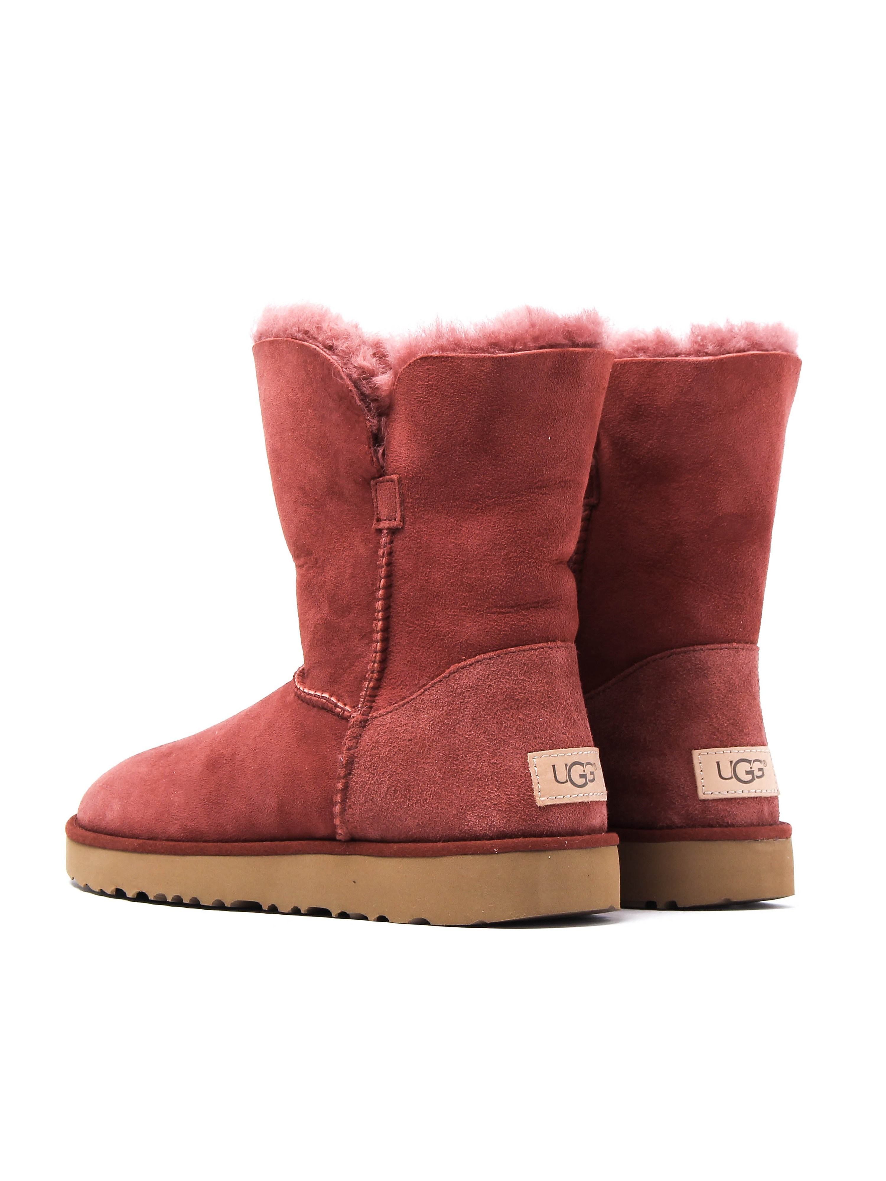 UGG Women's Classic Cuff Short Boots - Red Clay