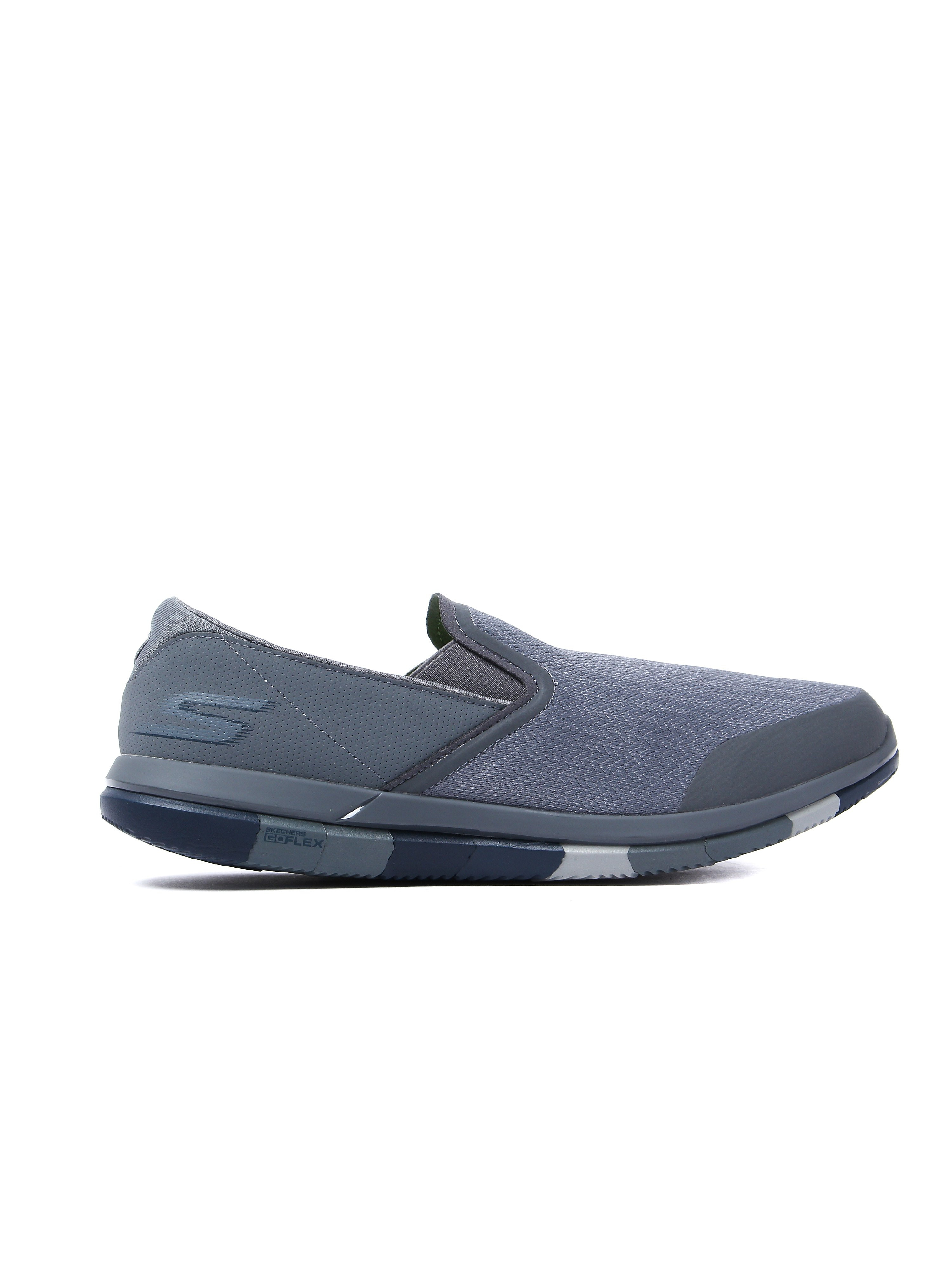 Skechers Men's Go Flex Trainers - Charcoal/Navy