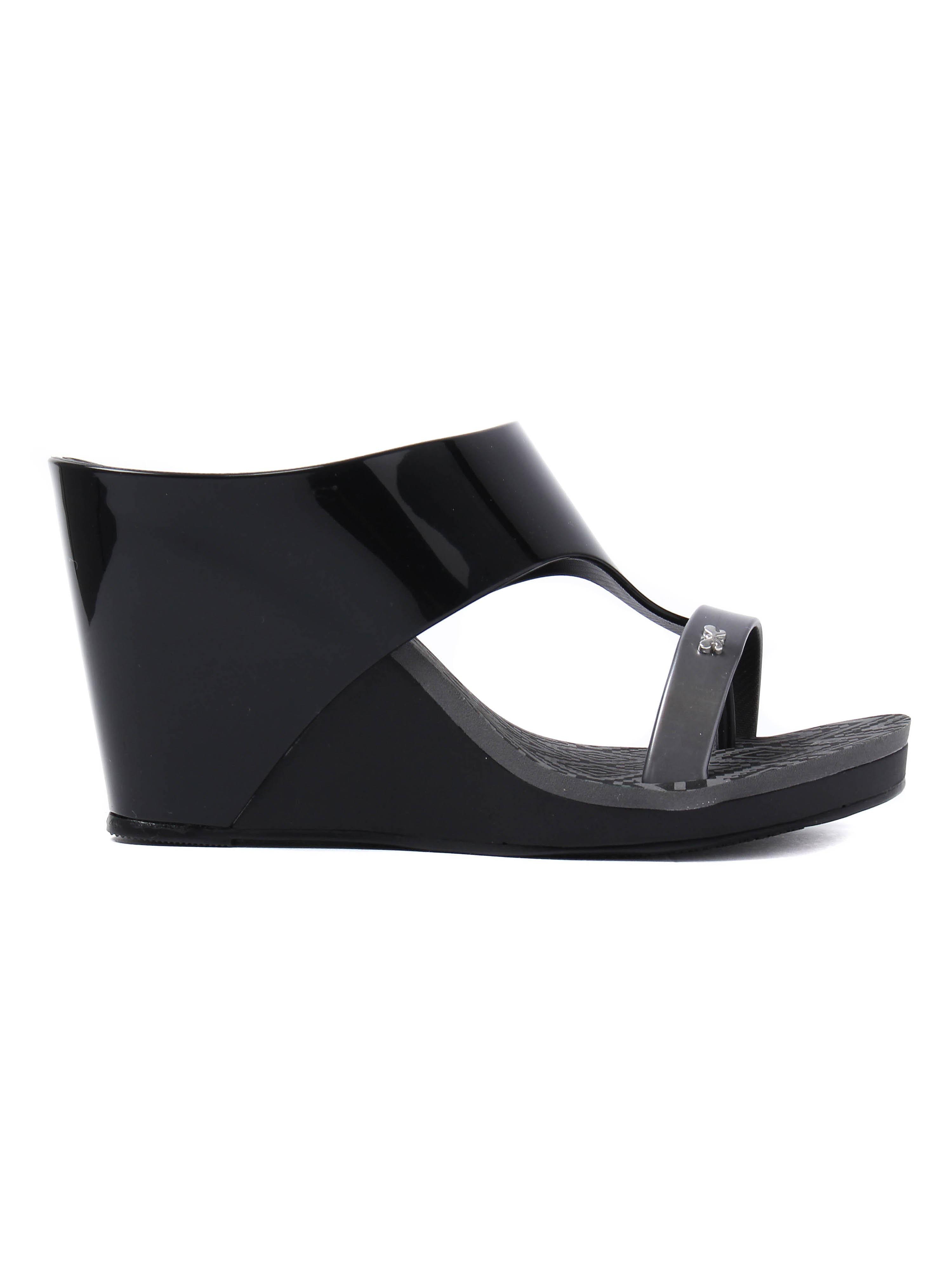Zaxy Women's Glamour 2 Wedges - Black