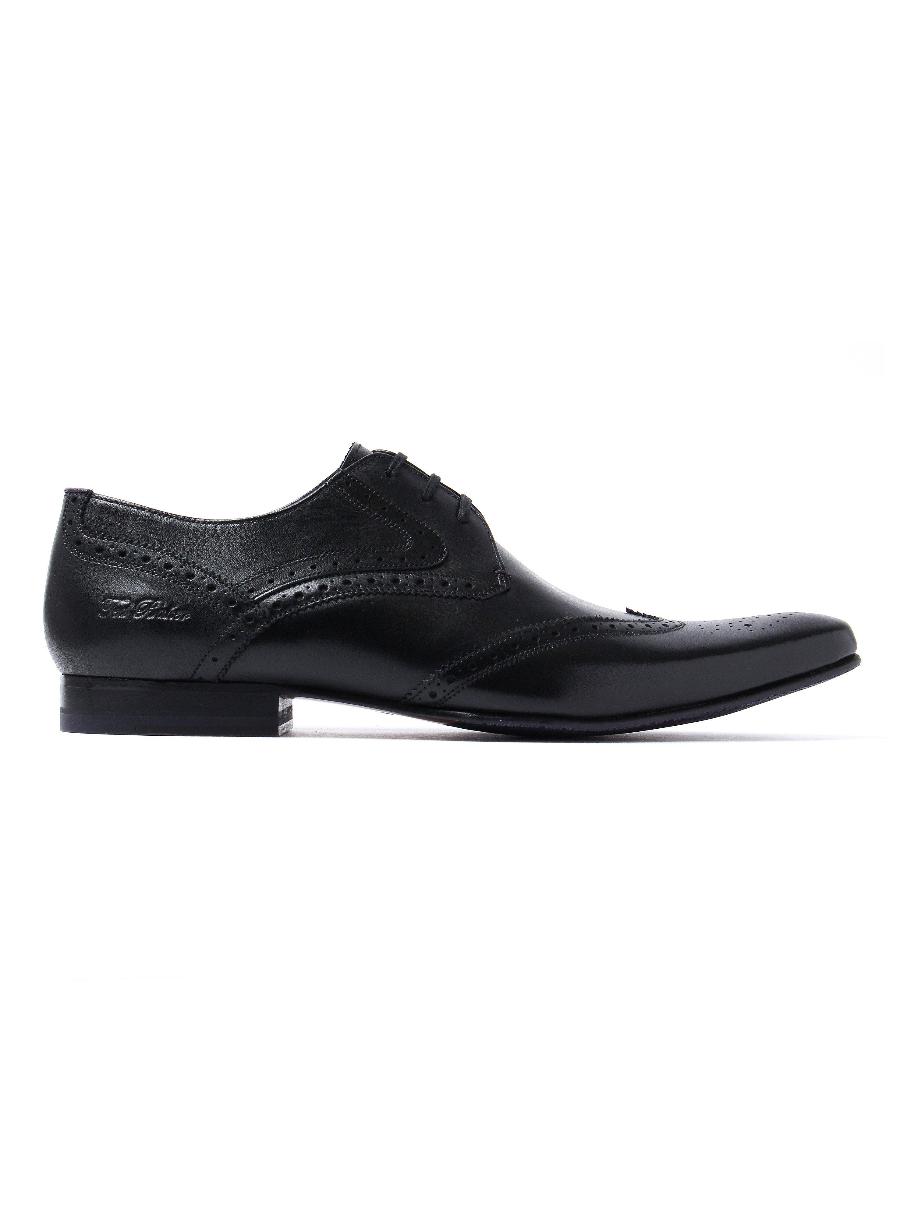 Ted Baker Men's Hann 2 Leather Derby Shoes - Black
