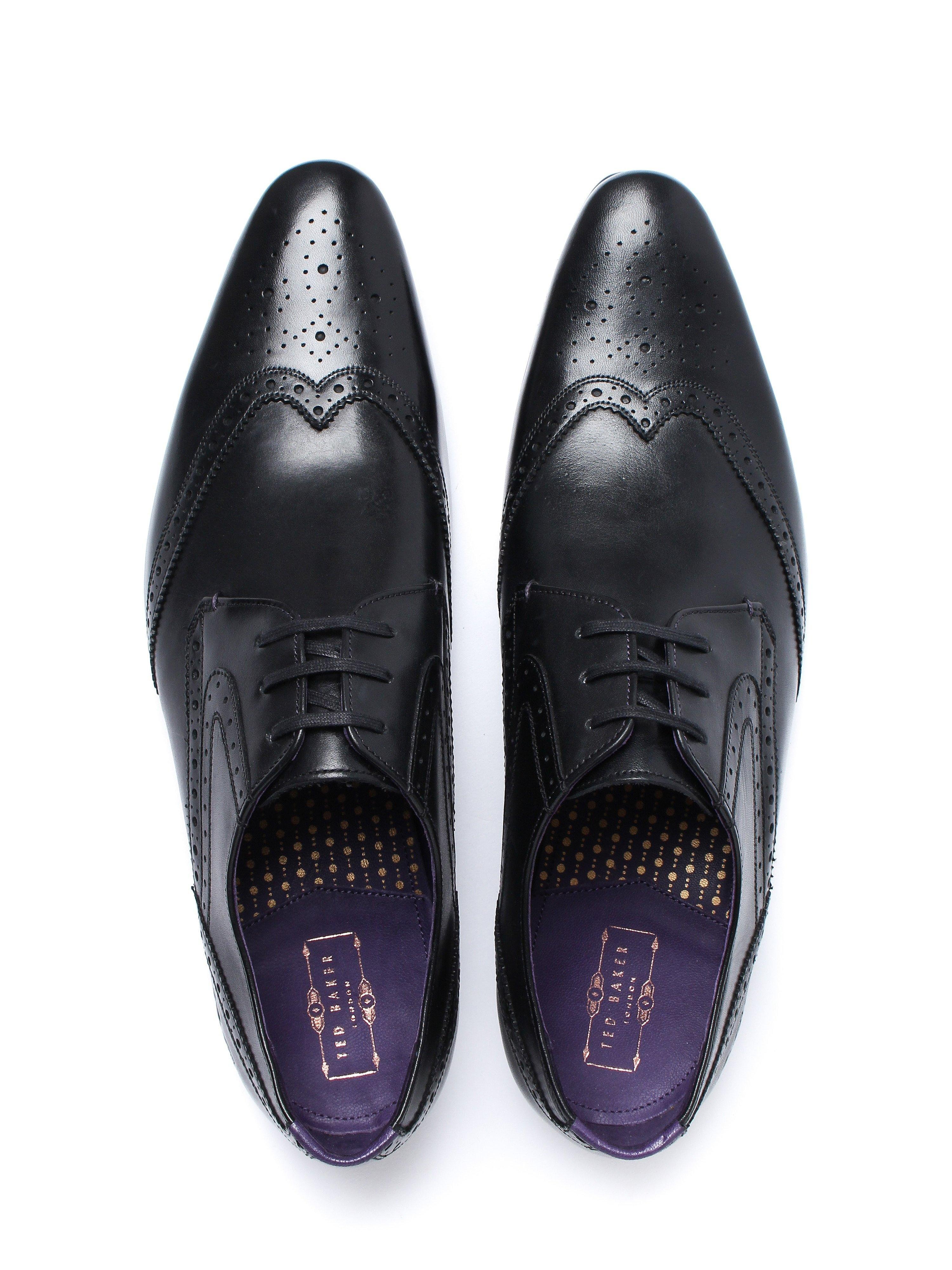 Ted Baker Men's Hann 2 Leather Derby Shoes - Black