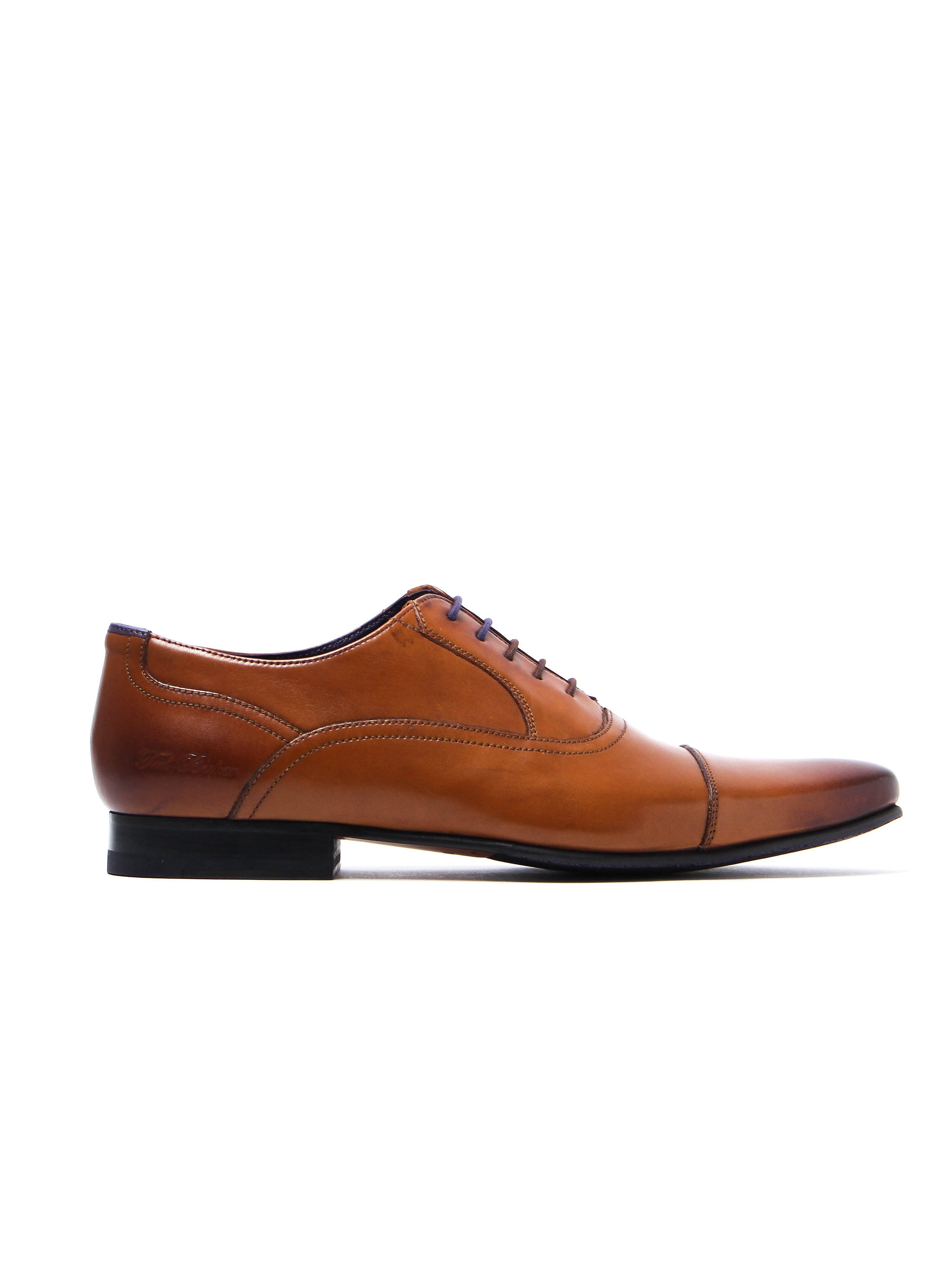 Ted Baker Men's Rogrr 2 Derby Shoes - Tan Leather