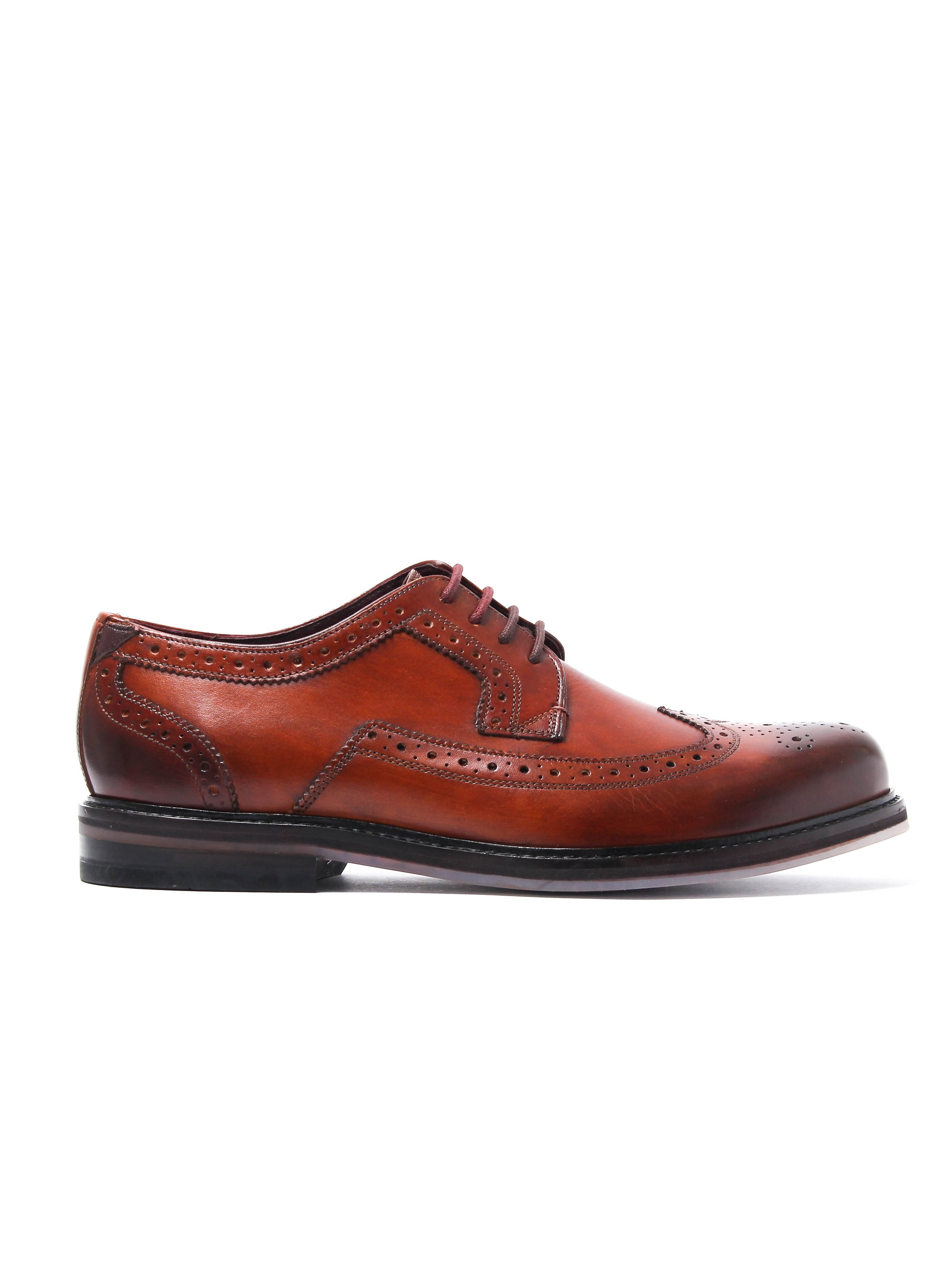 Ted Baker Men's Ttanum 3 Derby Brogues - Tan Leather