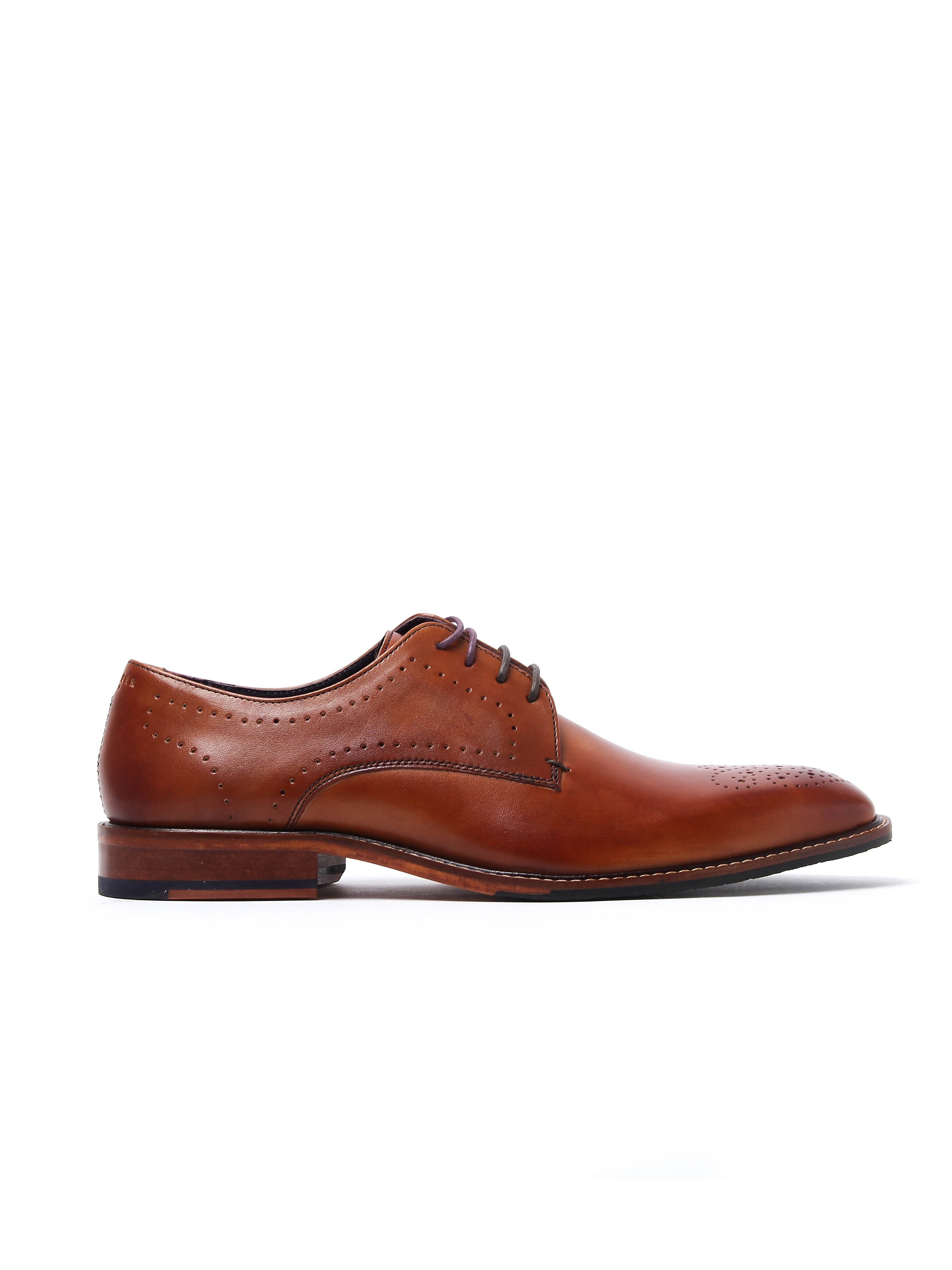 Ted Baker Men's Marar Derby Shoes - Tan Leather
