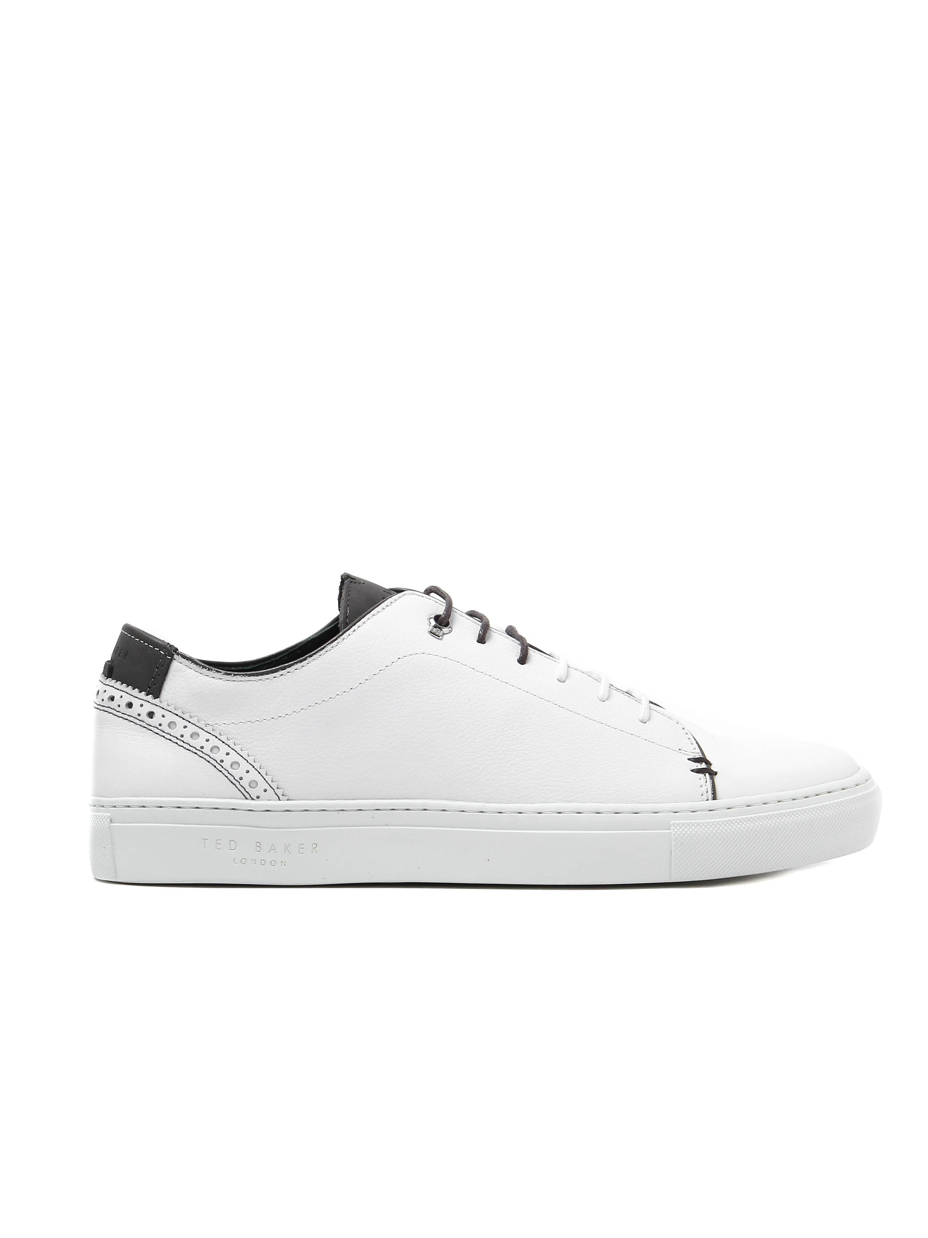 Ted Baker Men's Kiing Trainers - White Leather