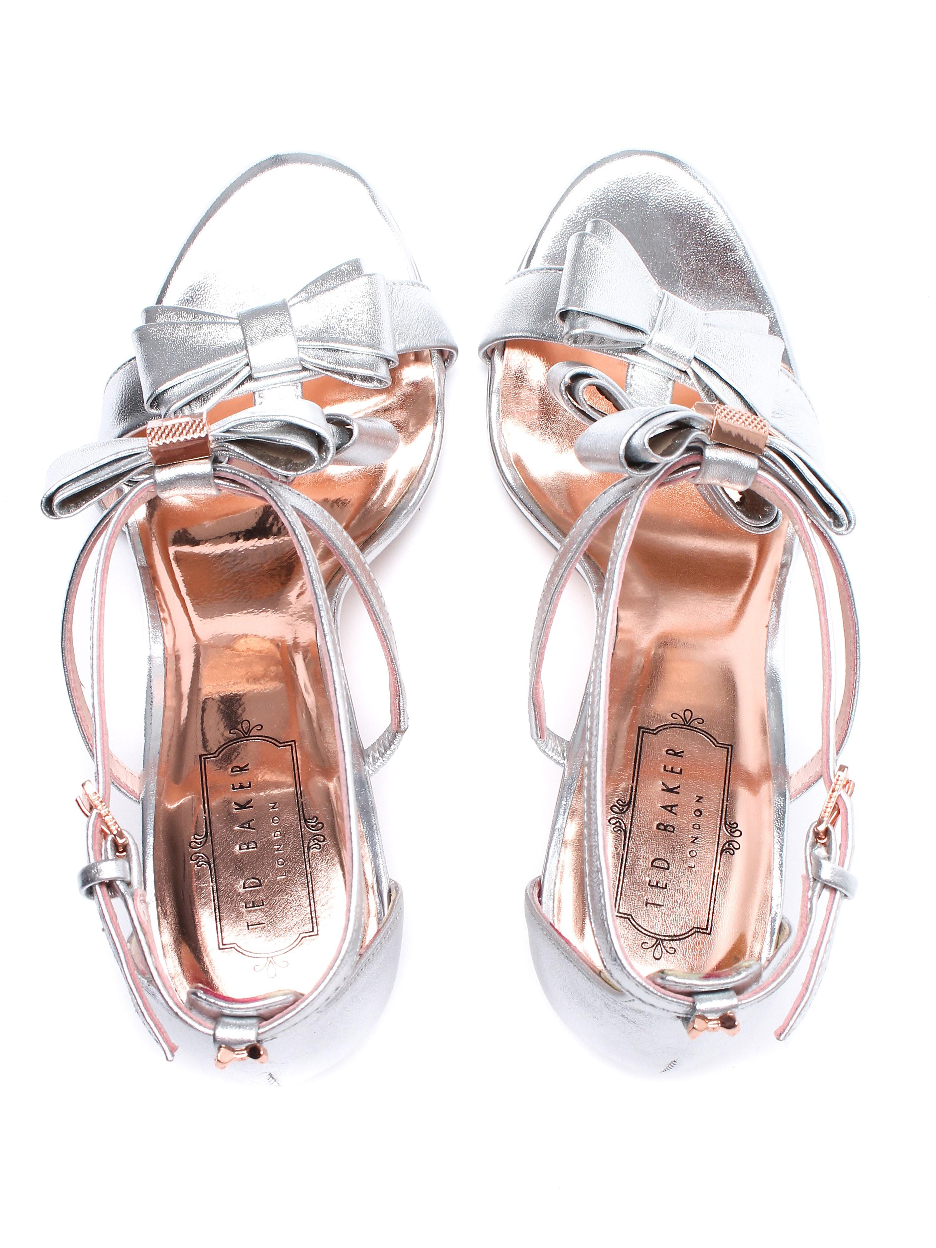 Ted Baker Women's Appolini Heels - Silver