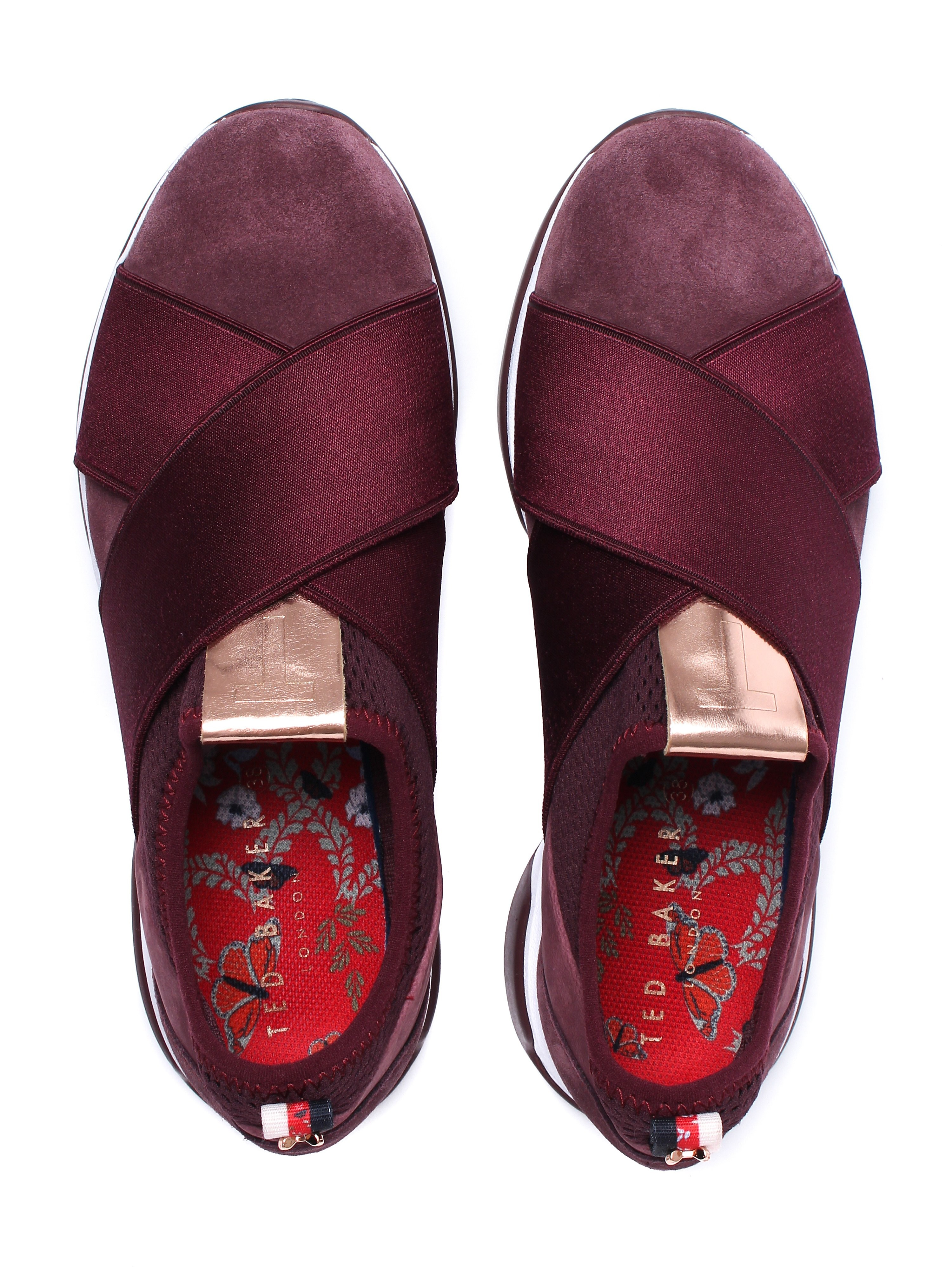 Ted Baker Women's Cursha Trainers - Burgundy