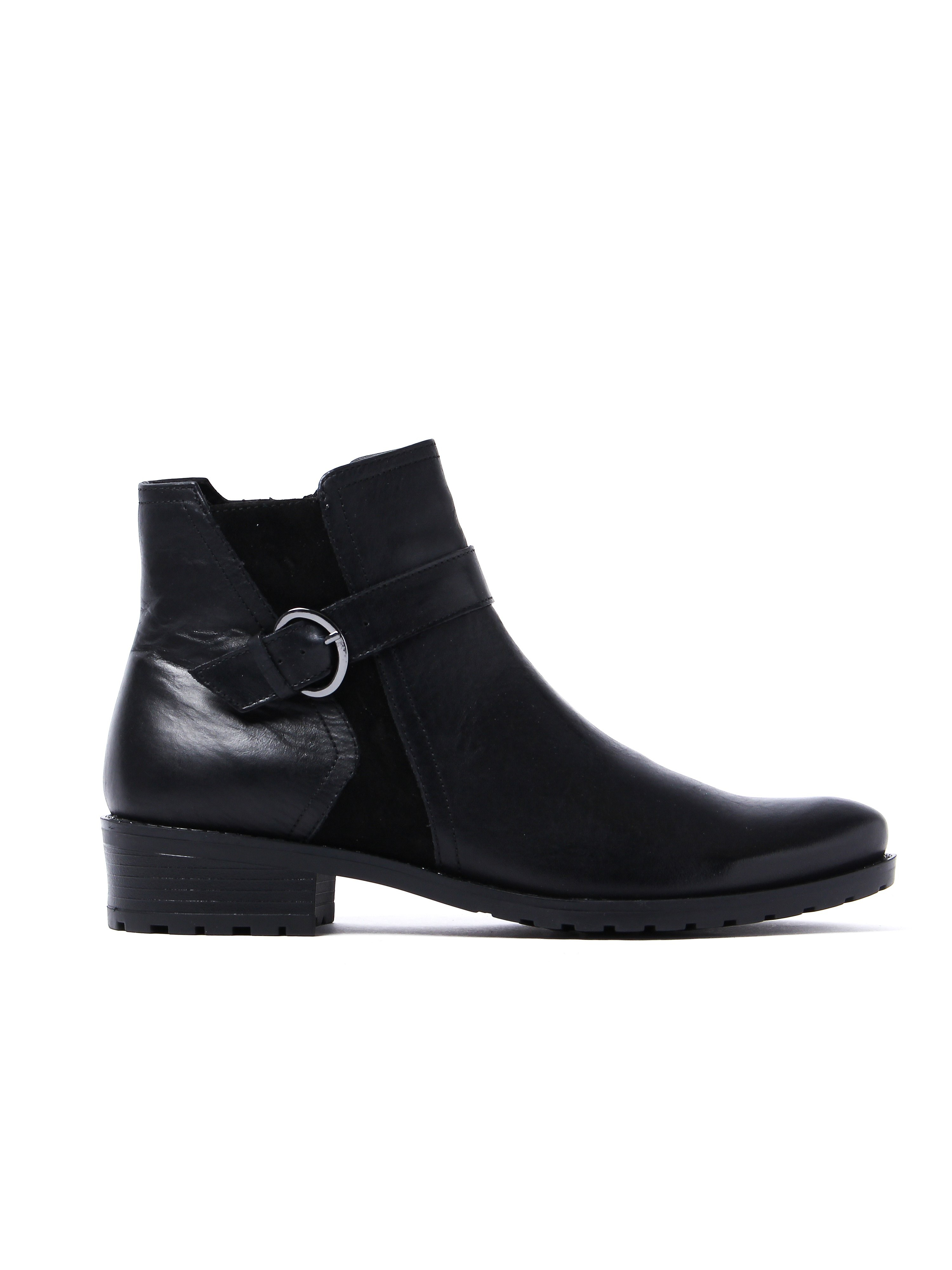 Caprice Women's Antic Ankle Boots - Black Leather