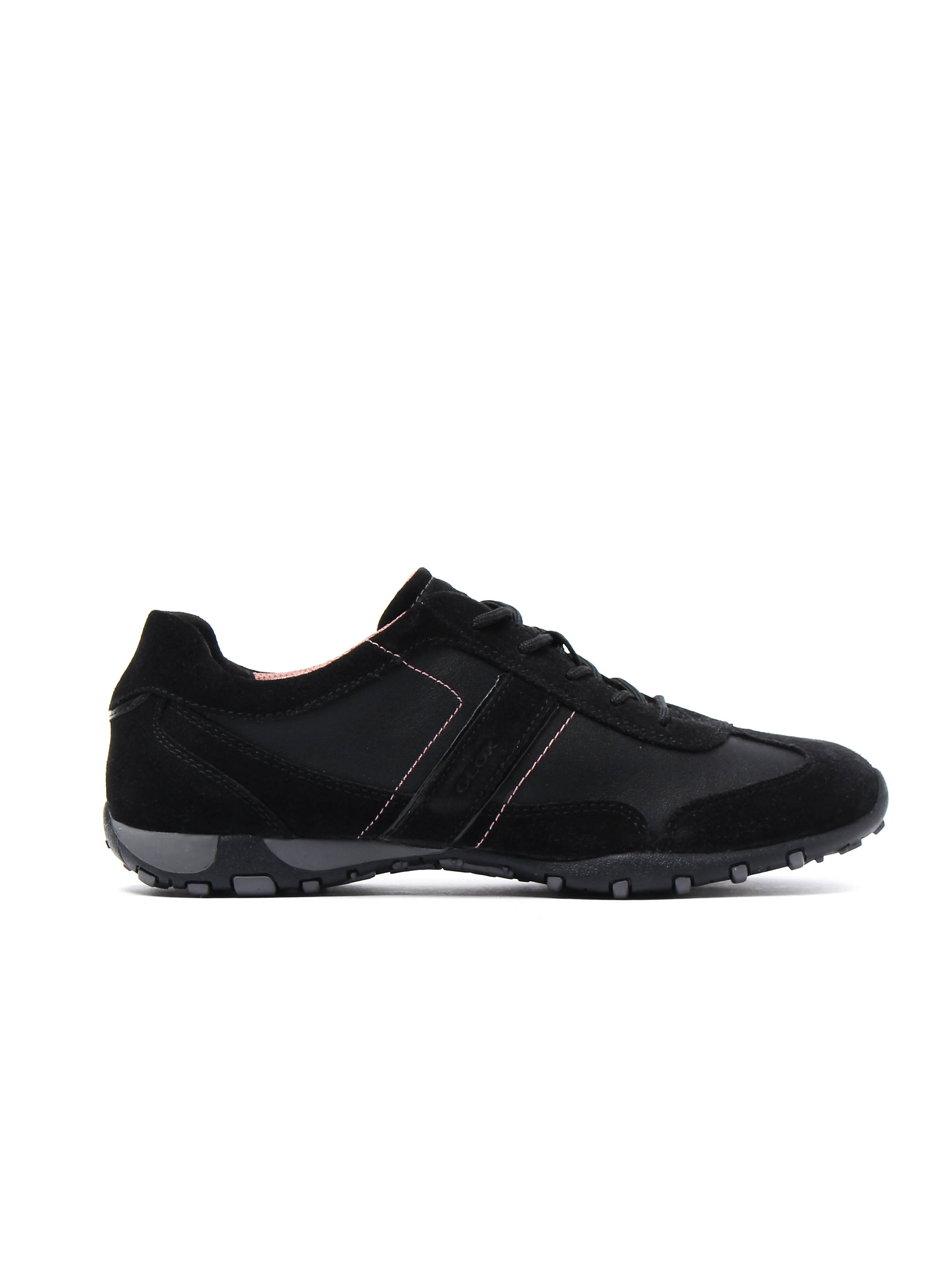 Geox Women's D Freccia Trainers - Black Suede