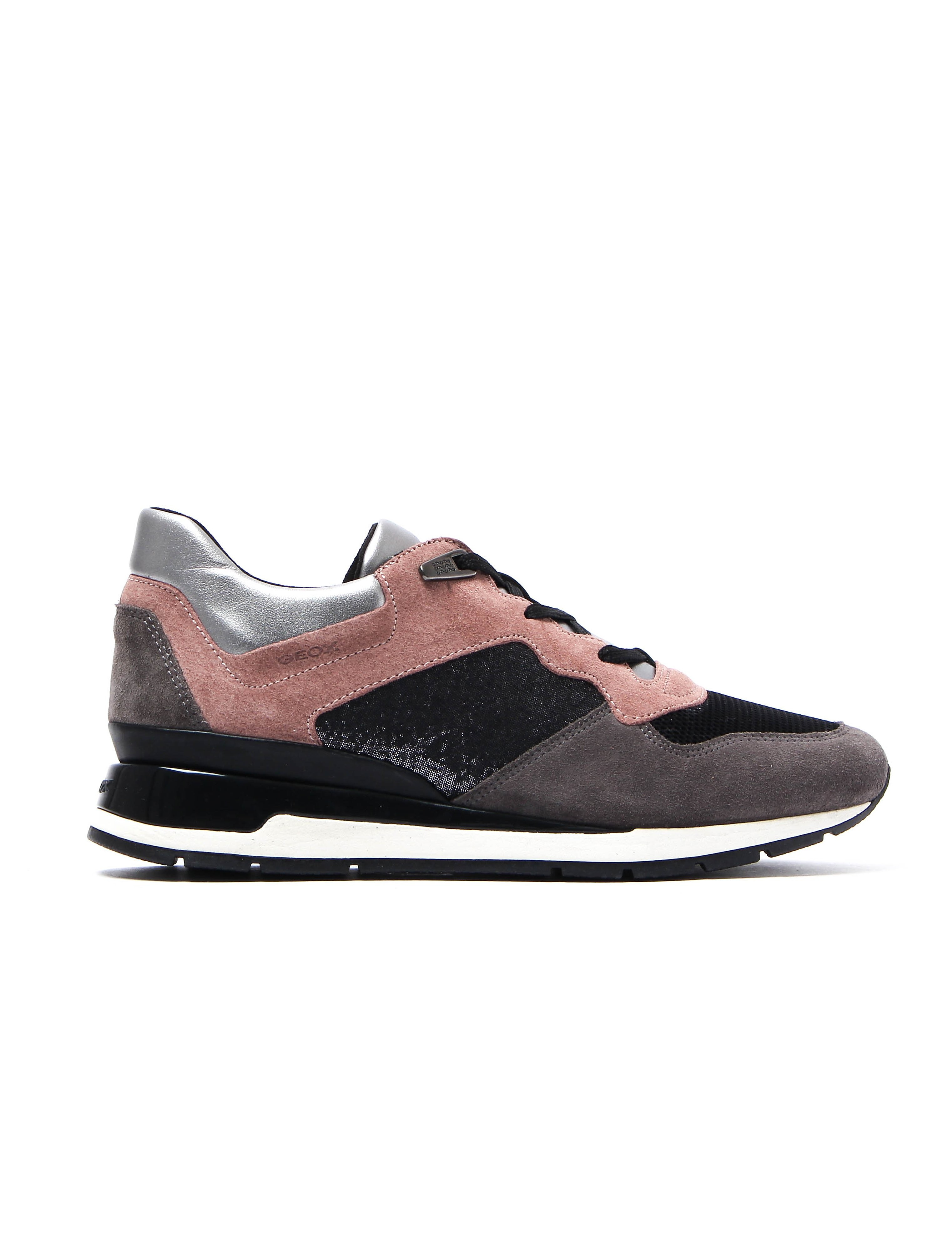 Geox Women's D Shahira Trainers - Old Rose Leather